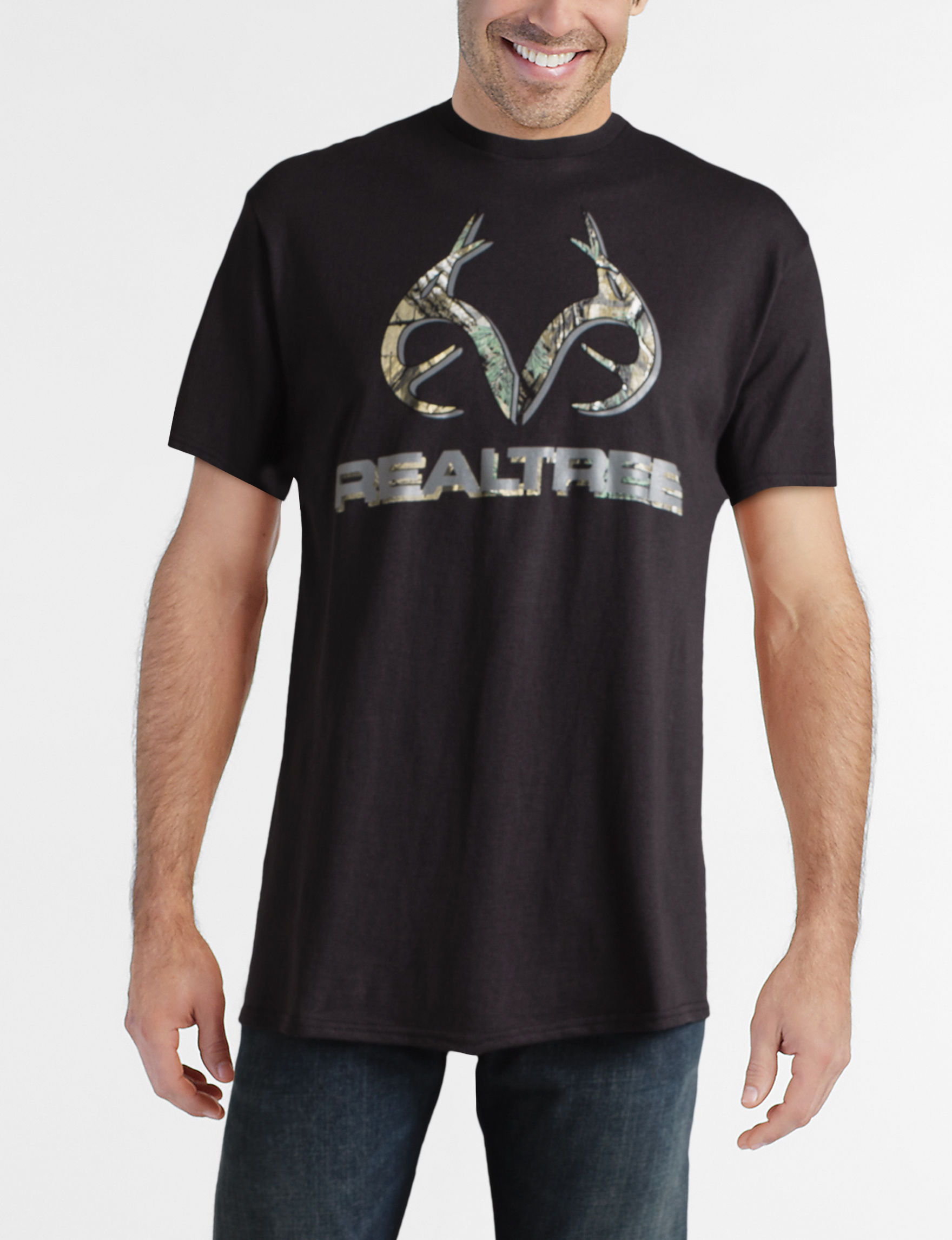Realtree Black Tees & Tanks