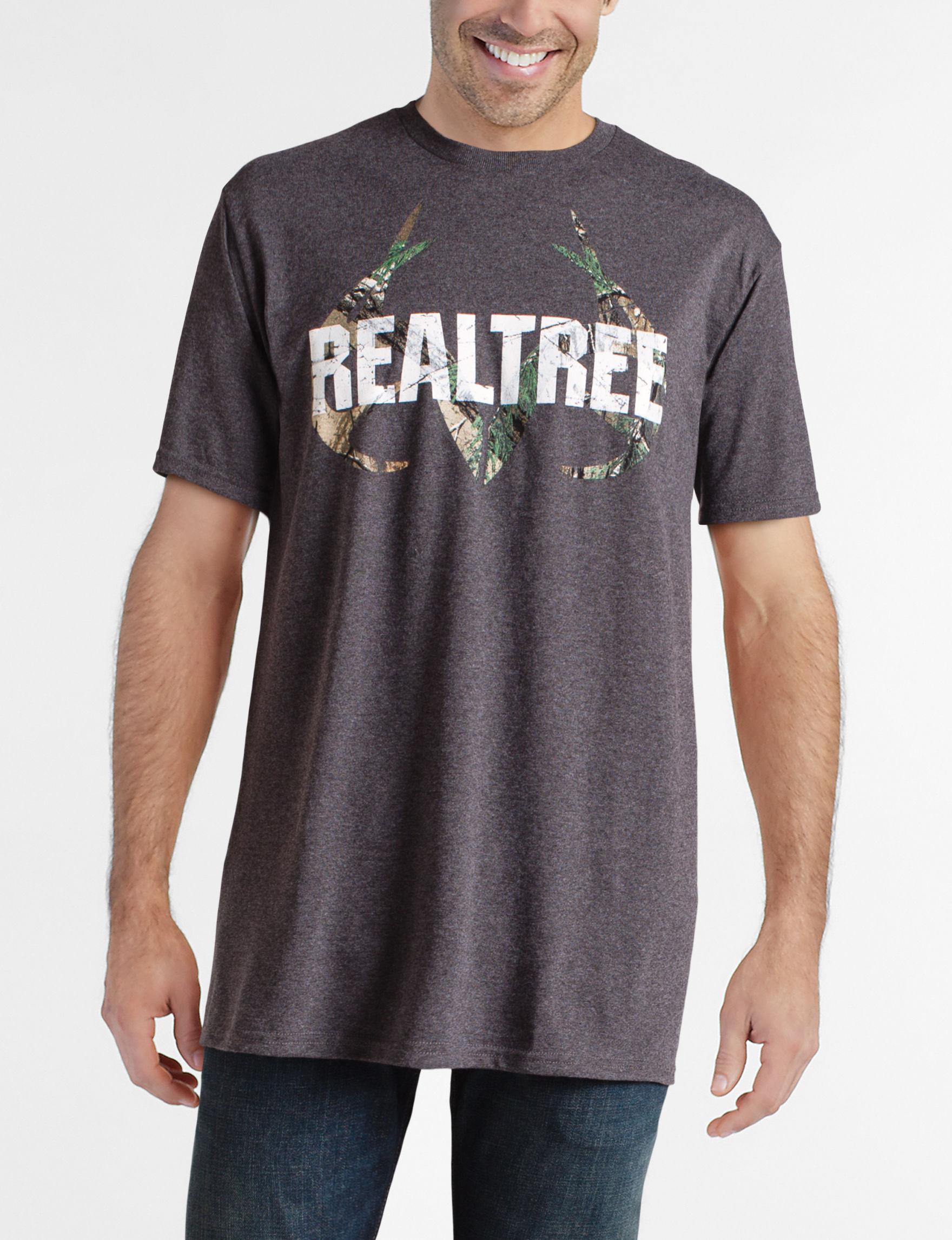 Realtree Grey Tees & Tanks