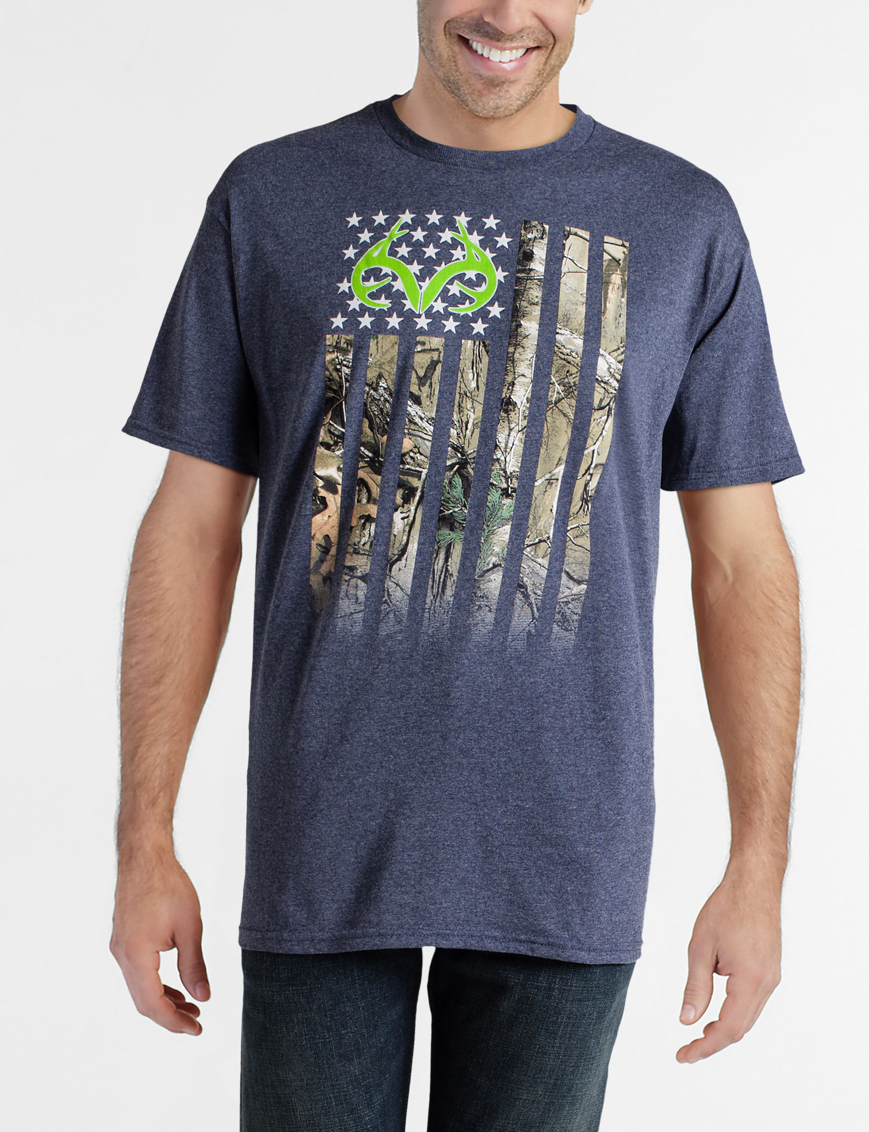 Realtree Navy Tees & Tanks