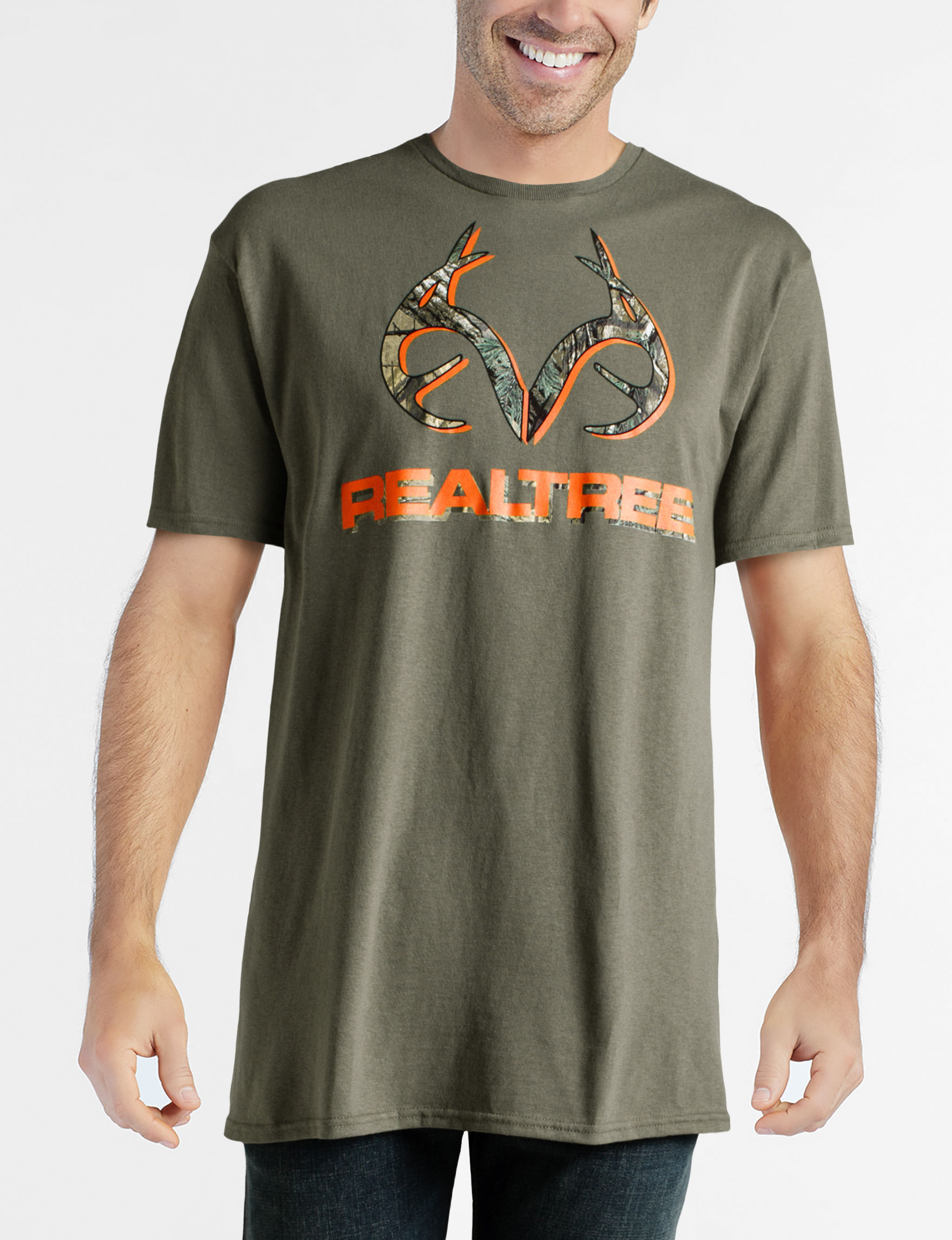 Realtree Olive Tees & Tanks