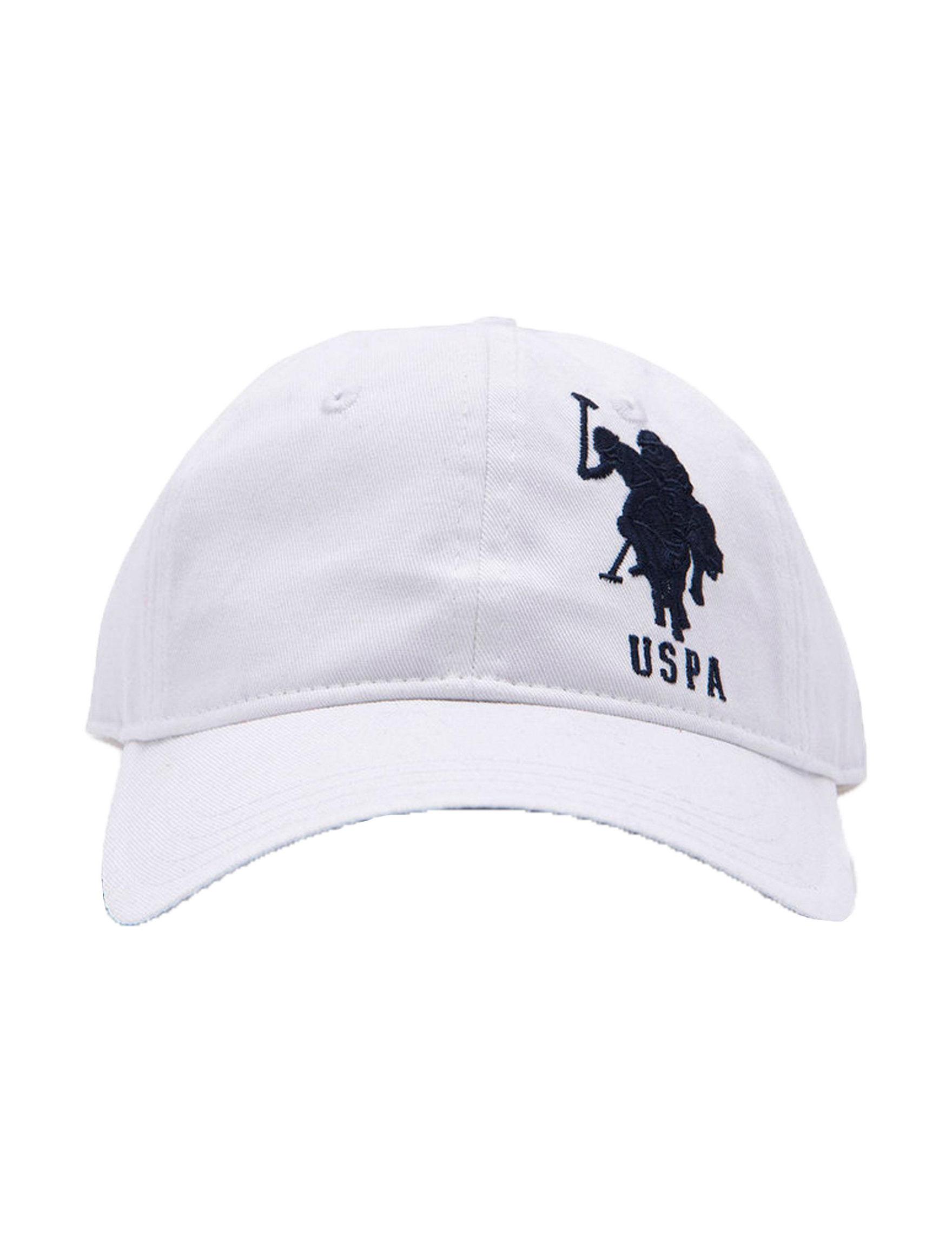 U.S. Polo Assn. White Hats & Headwear