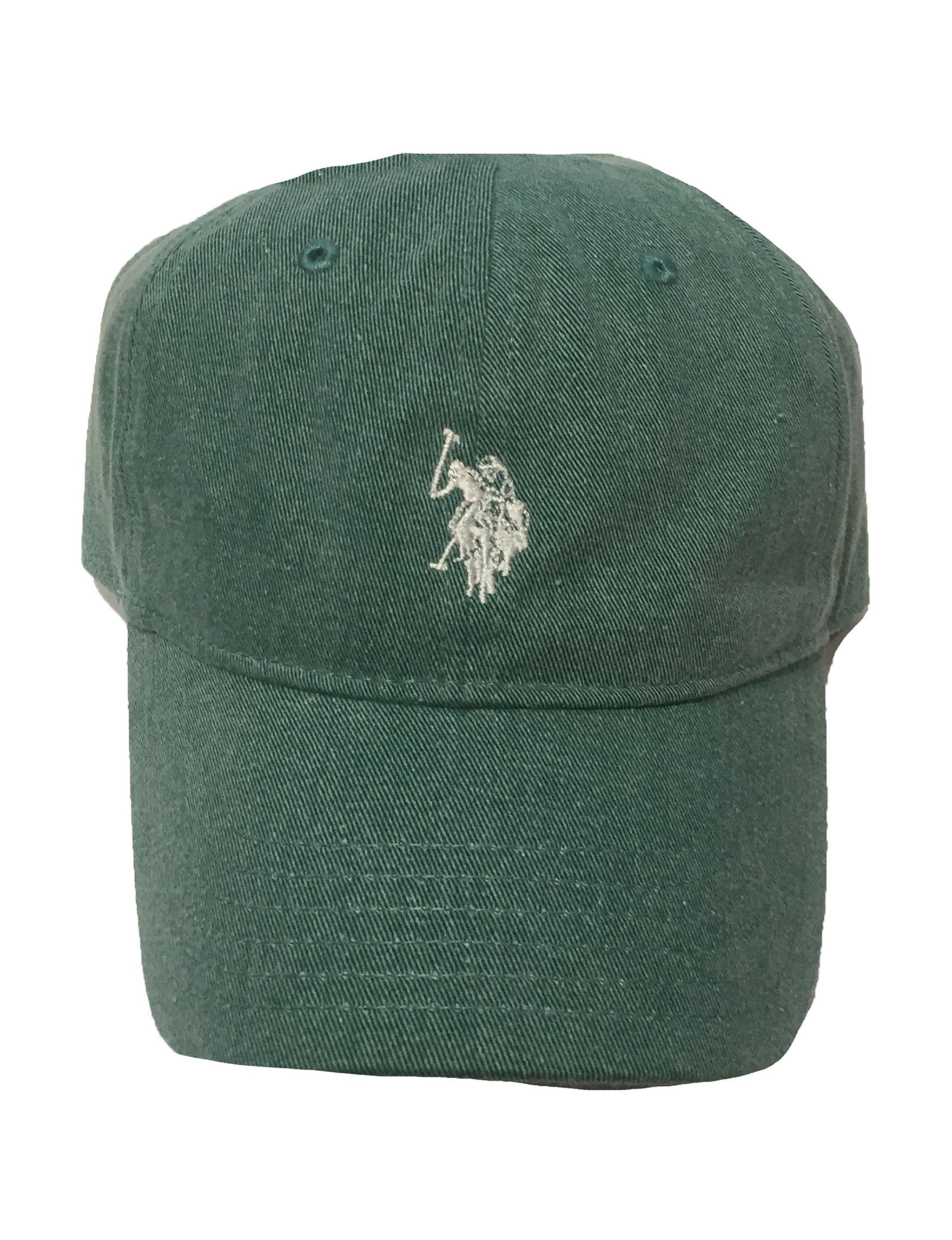 U.S. Polo Assn. Green Hats & Headwear