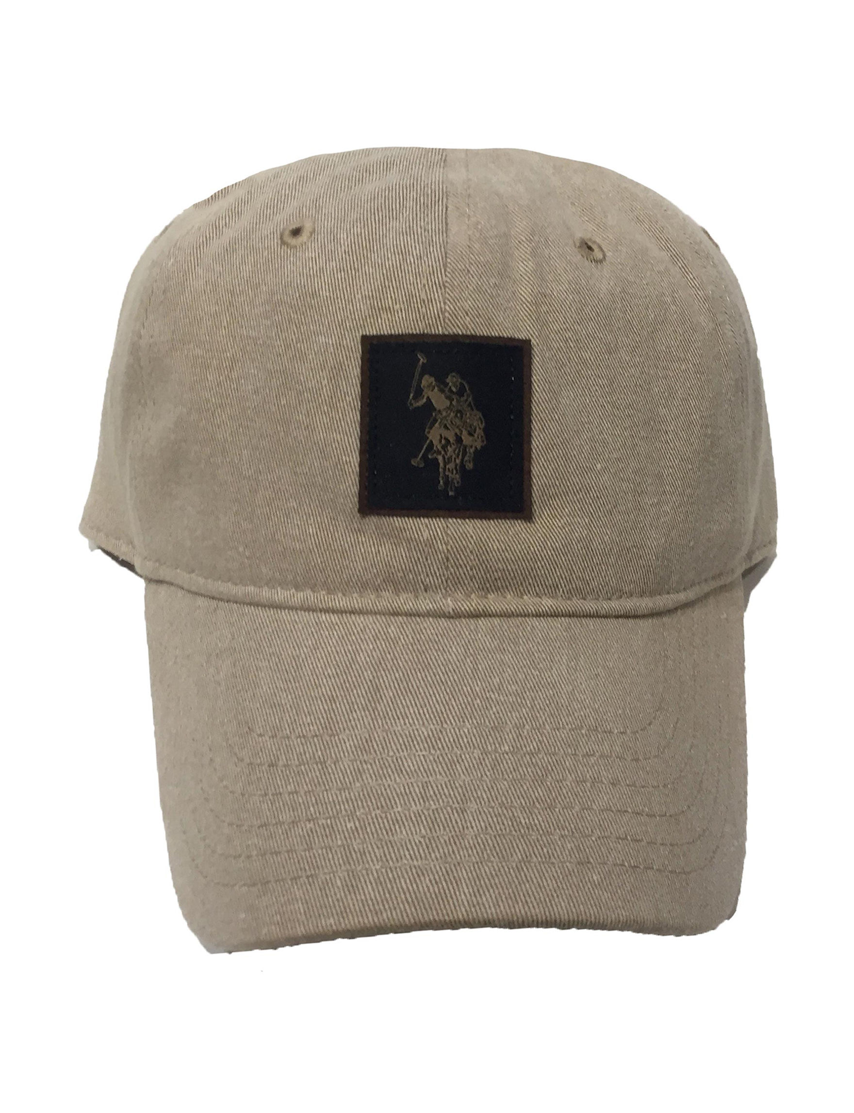 U.S. Polo Assn. Khaki Hats & Headwear