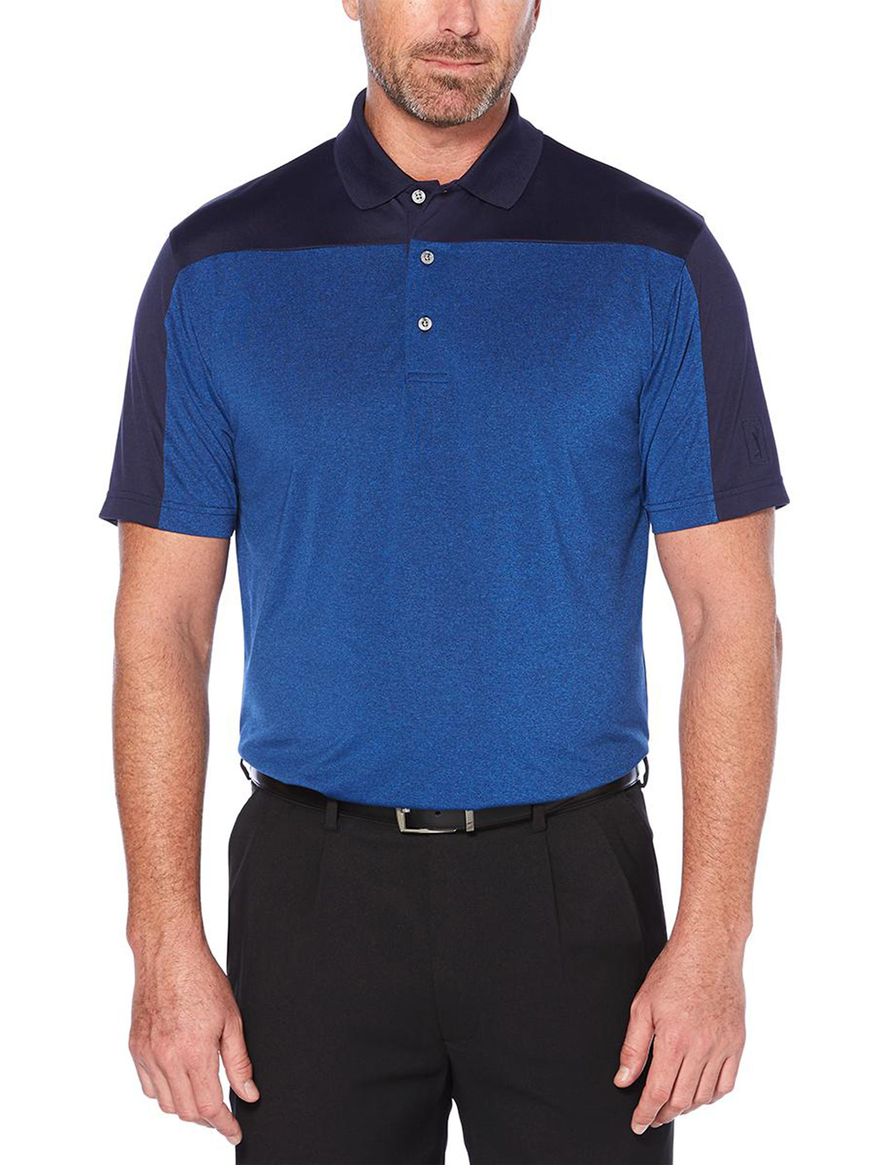 PGA TOUR Blue / Grey Polos
