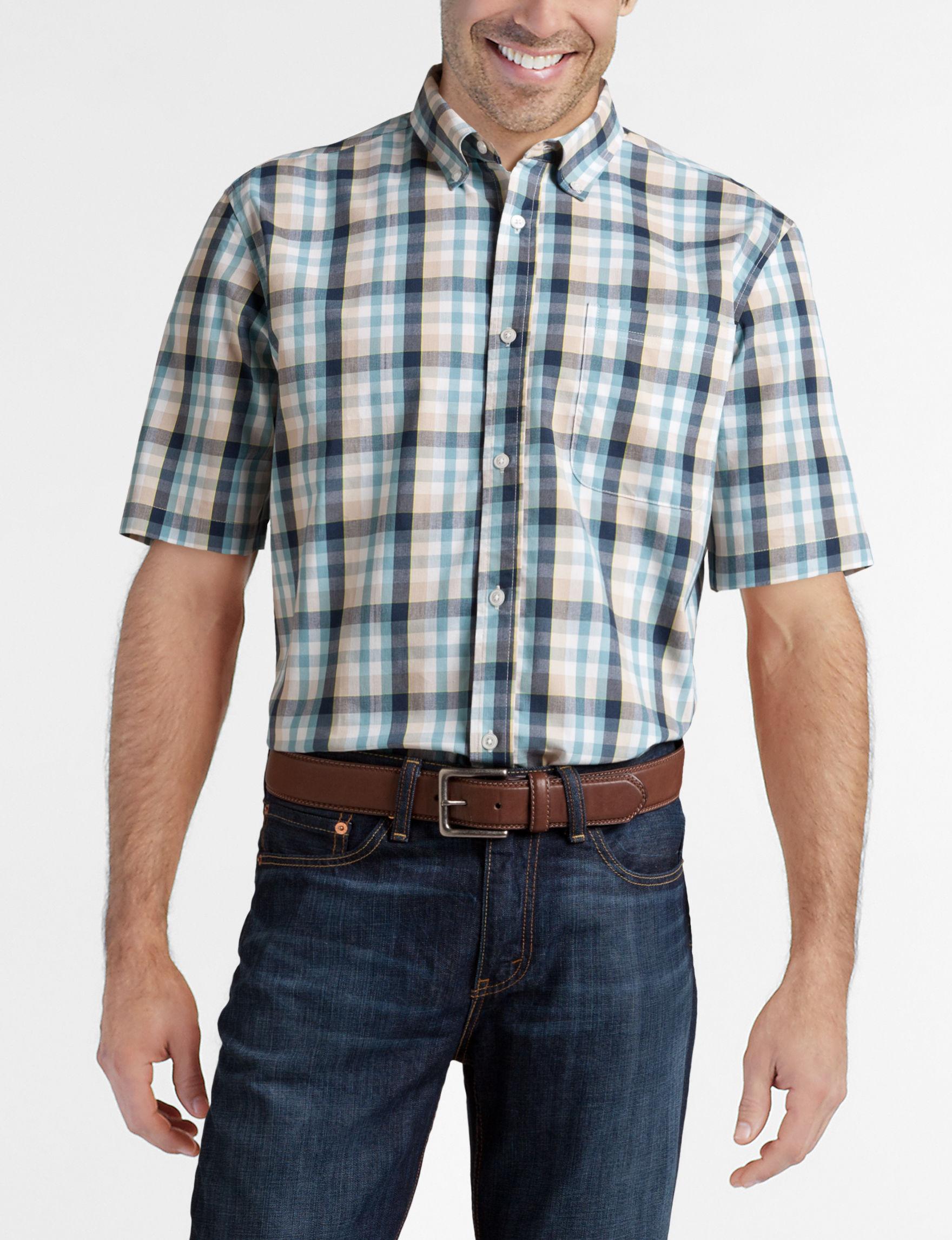 Sun River Stone Casual Button Down Shirts