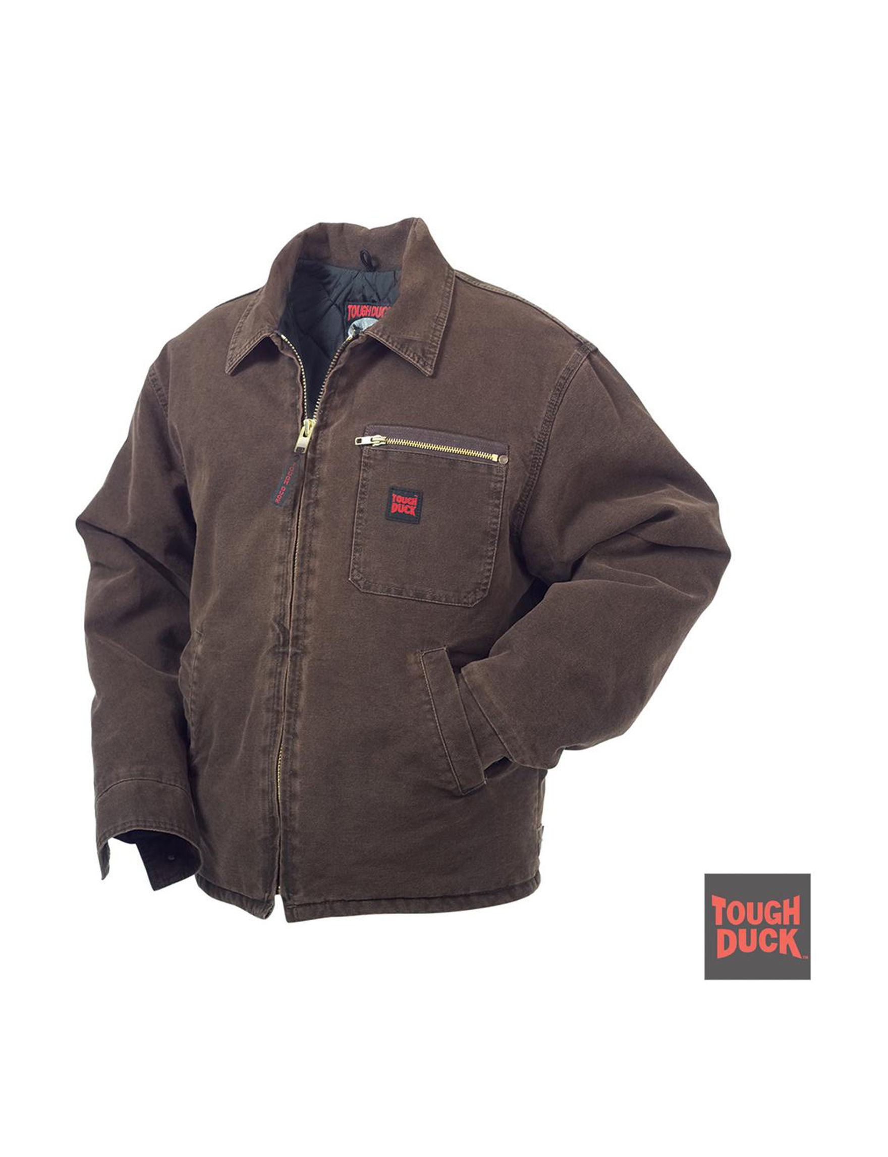 Tough Duck Chestnut Insulated Jackets