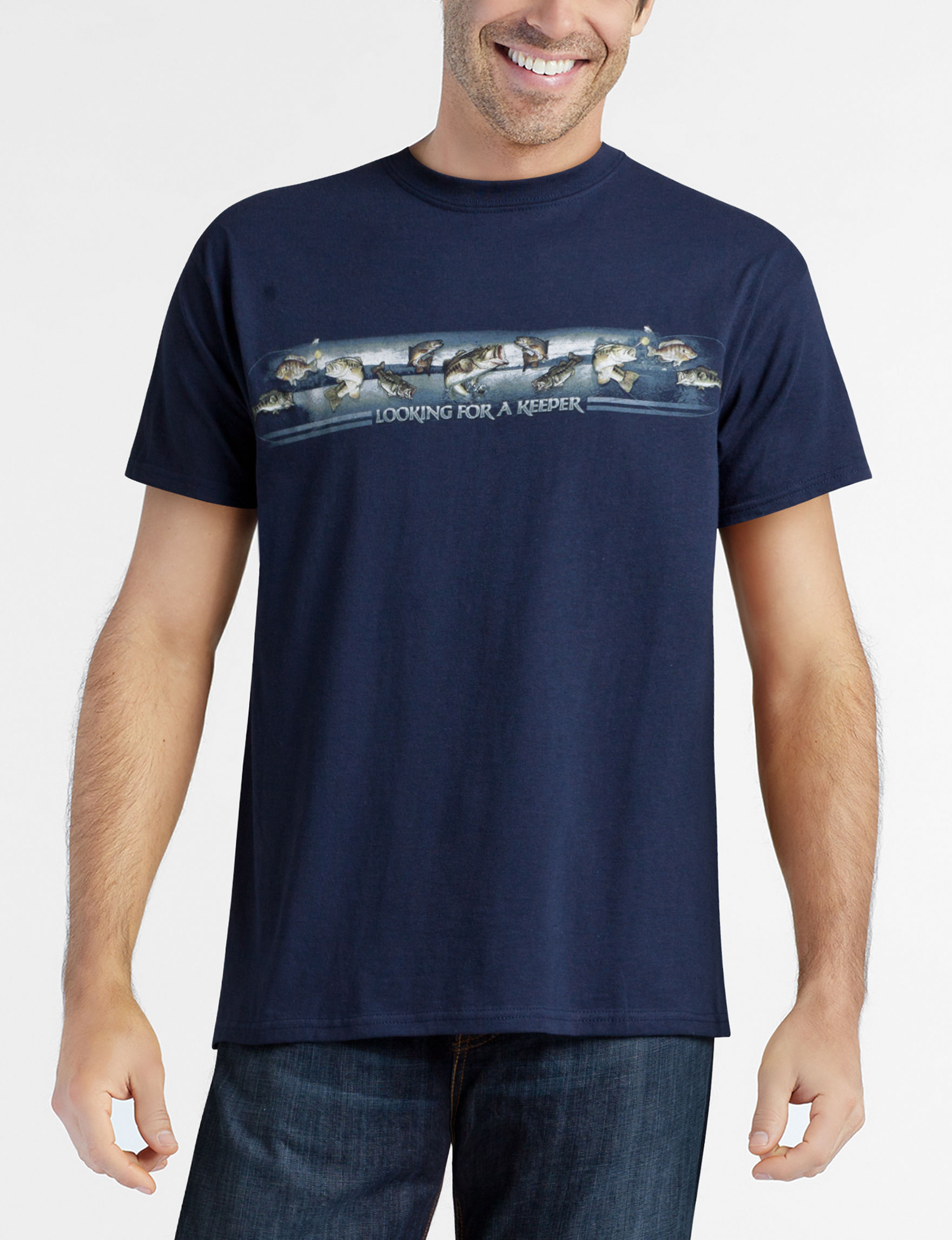 The Northern Outpost Co. Midnight Blue Tees & Tanks