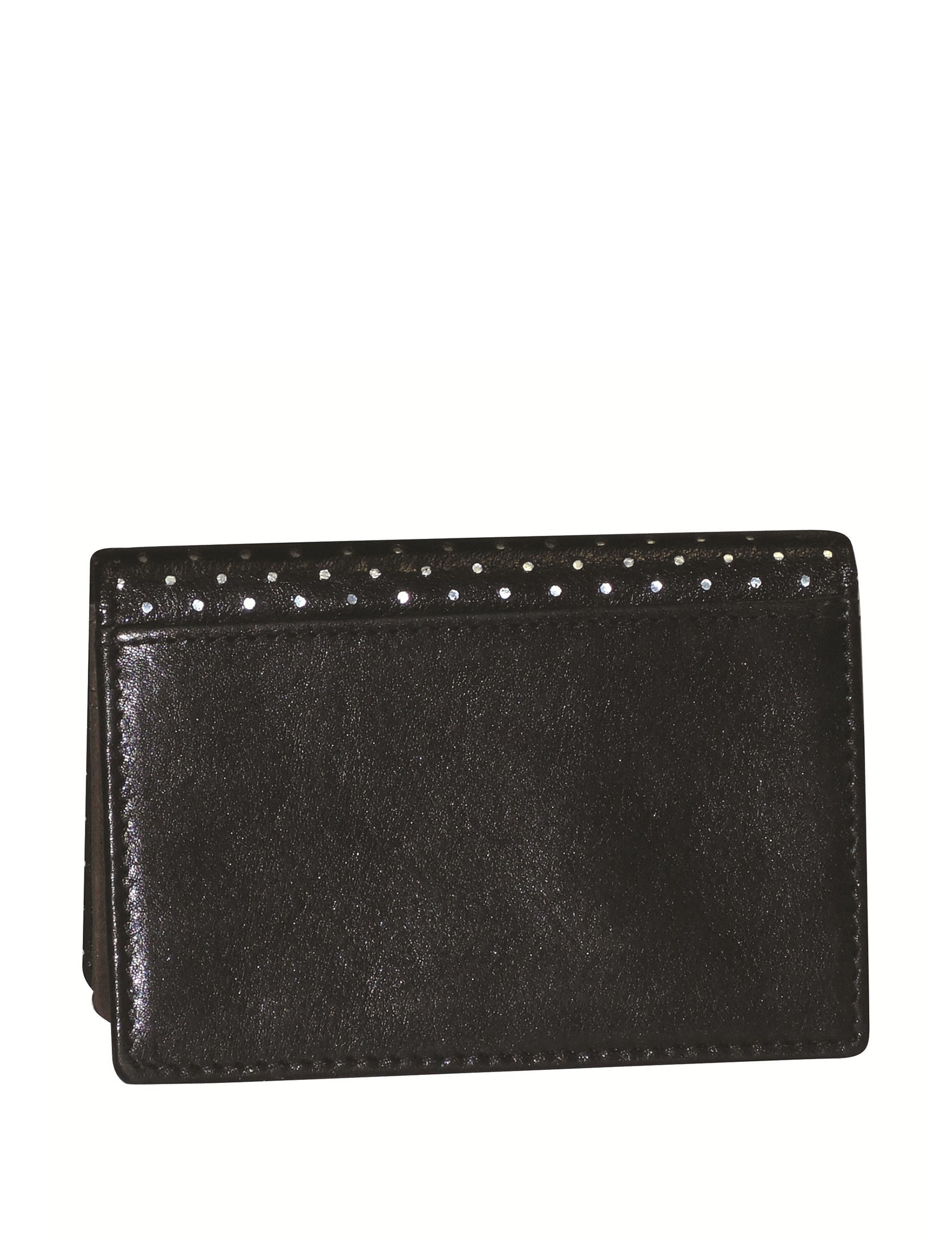 DOPP Black Bi-fold Wallets