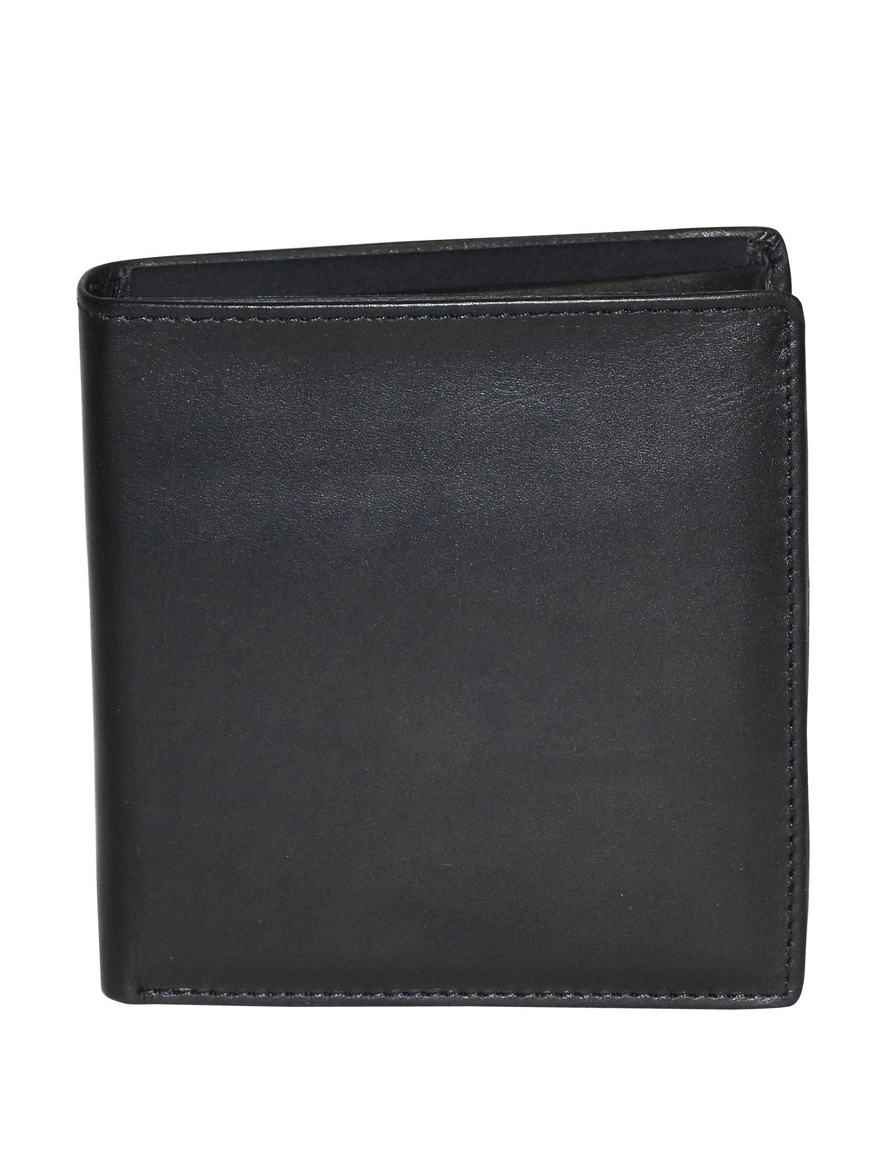 DOPP Black Bi-fold Wallets