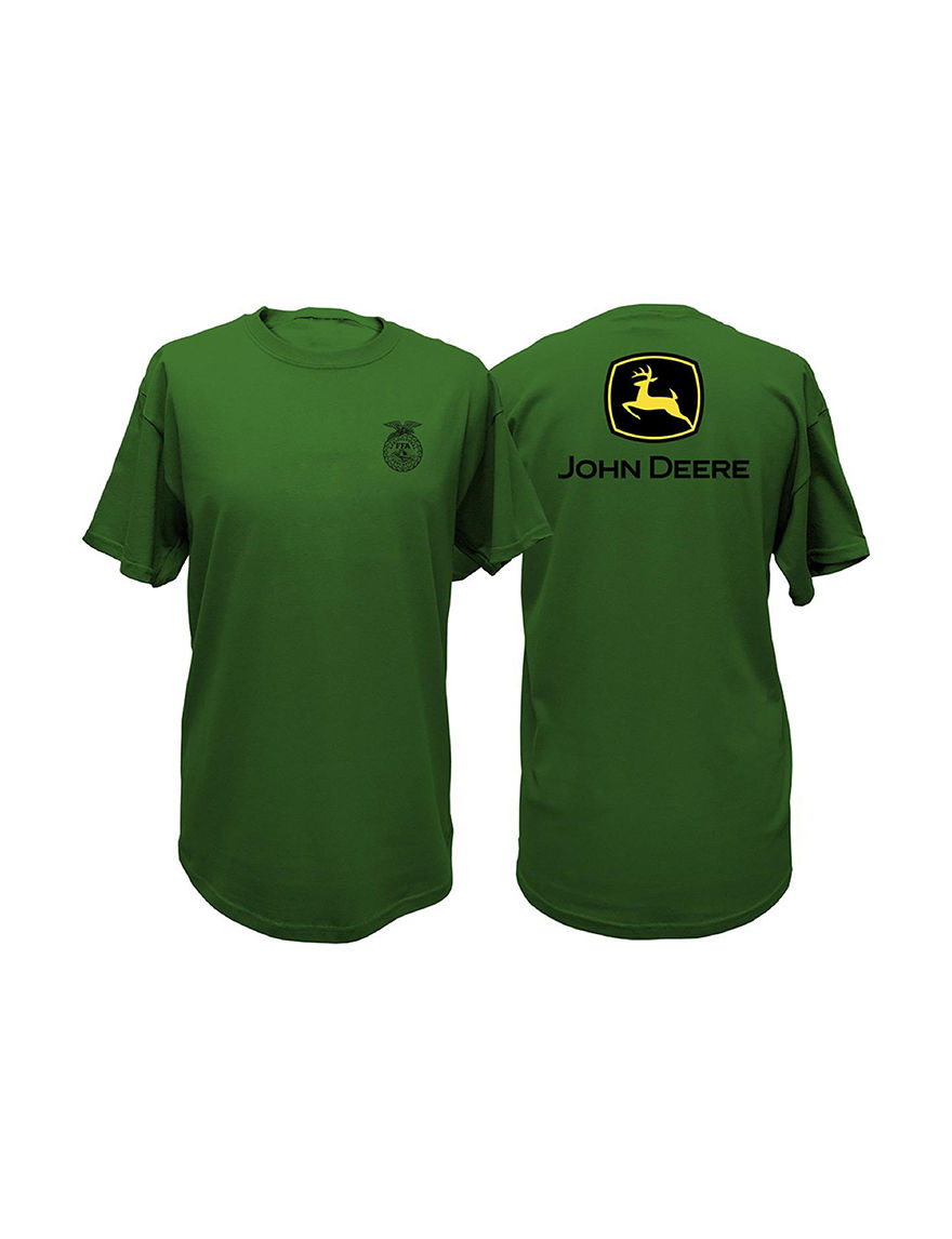 John Deere Green Tees & Tanks