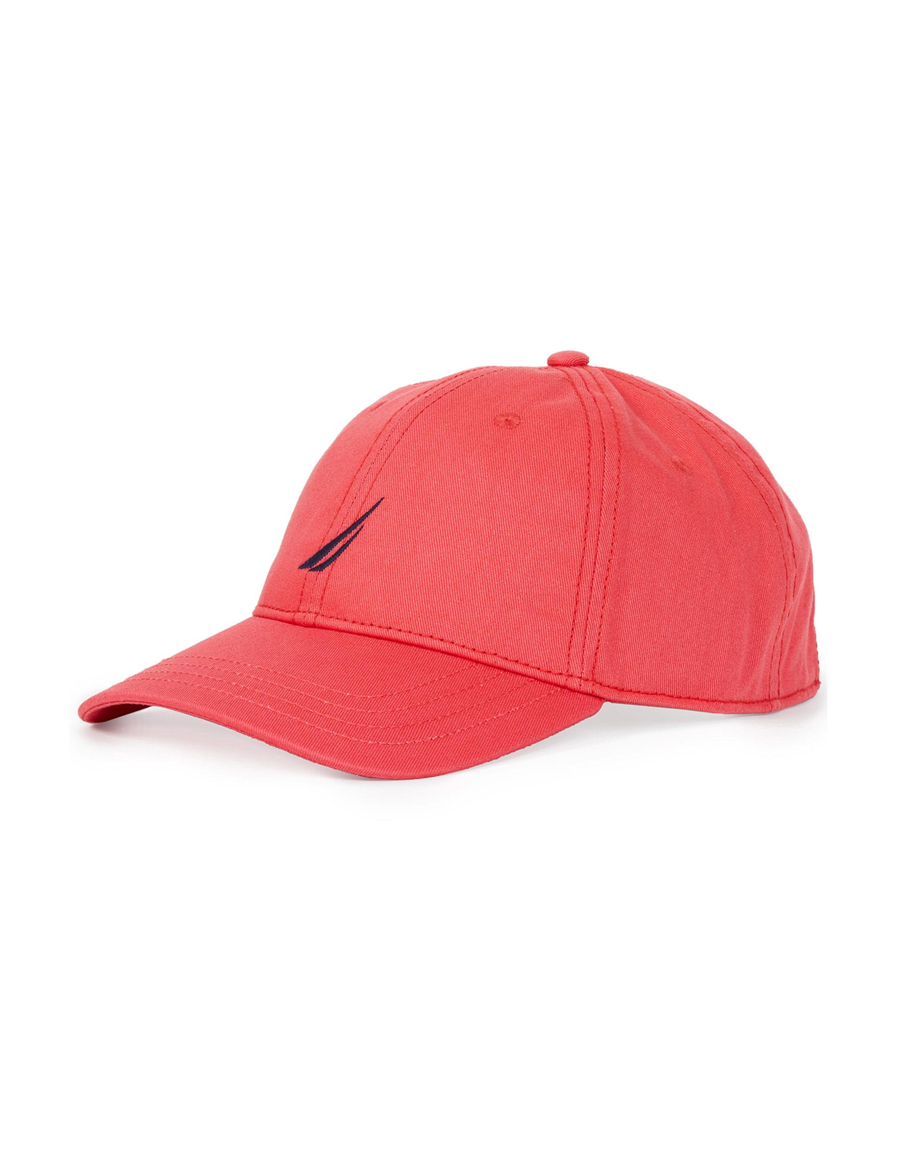Nautica Orange Hats & Headwear