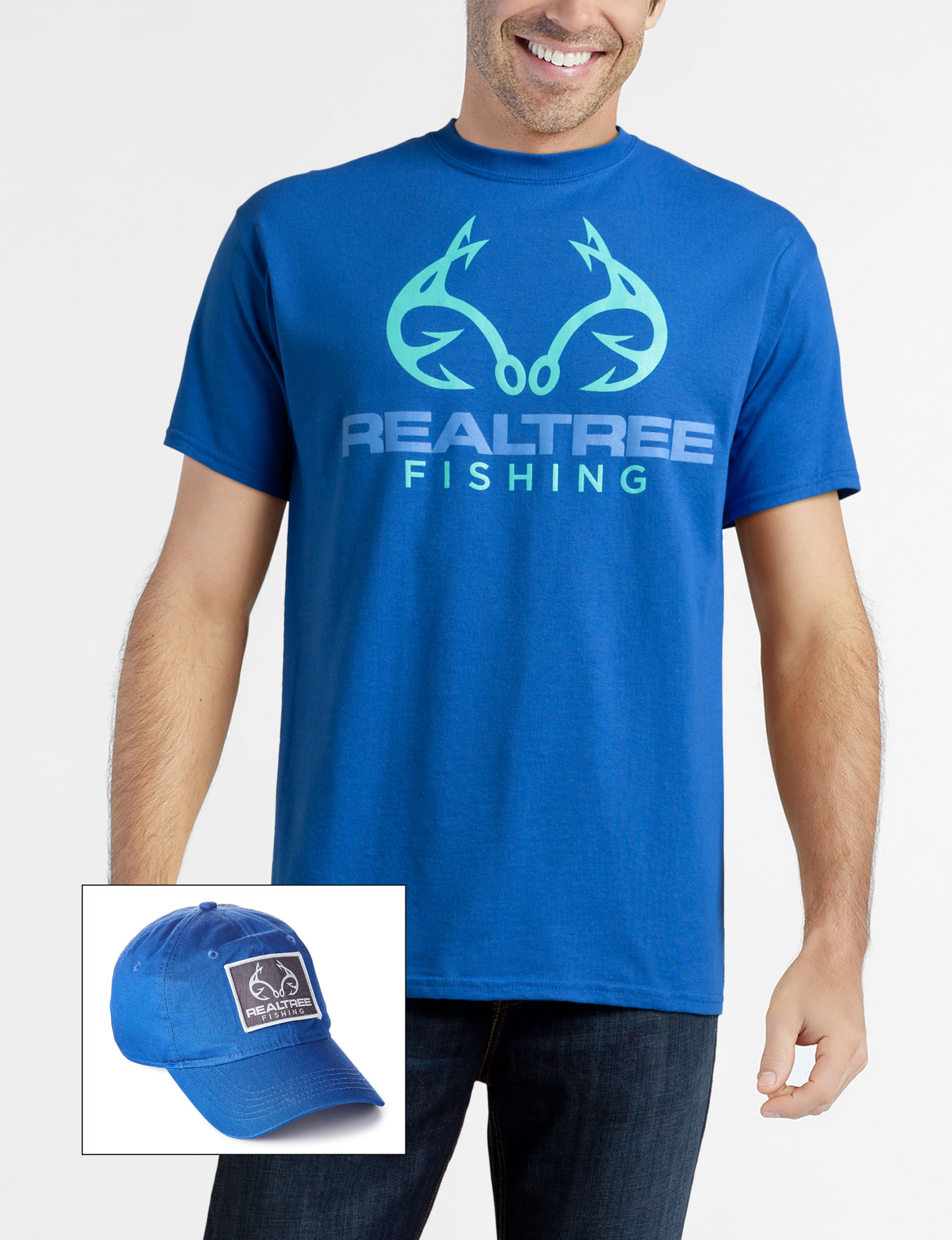 Realtree Royal Blue Tees & Tanks