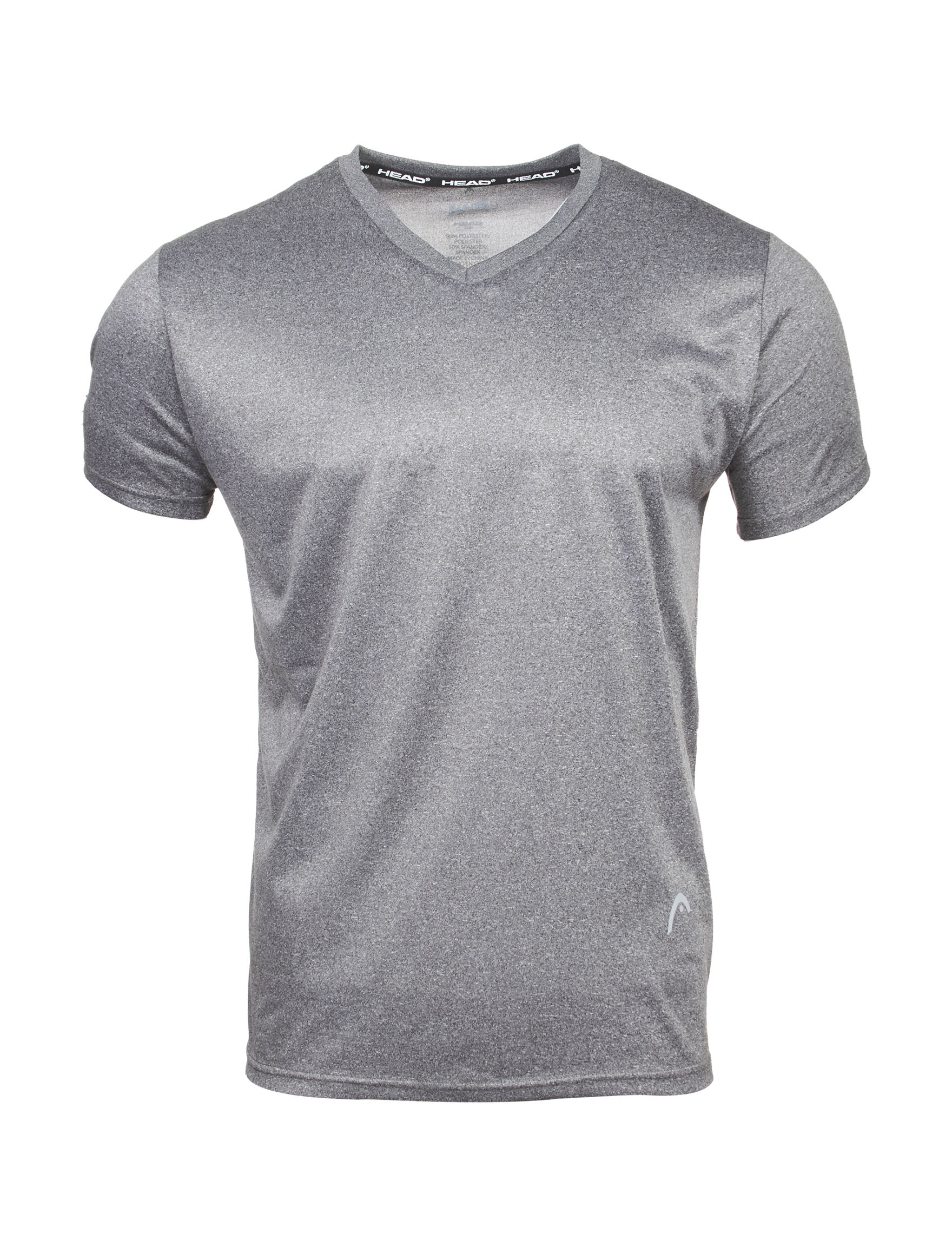 Head Heather Grey Tees & Tanks