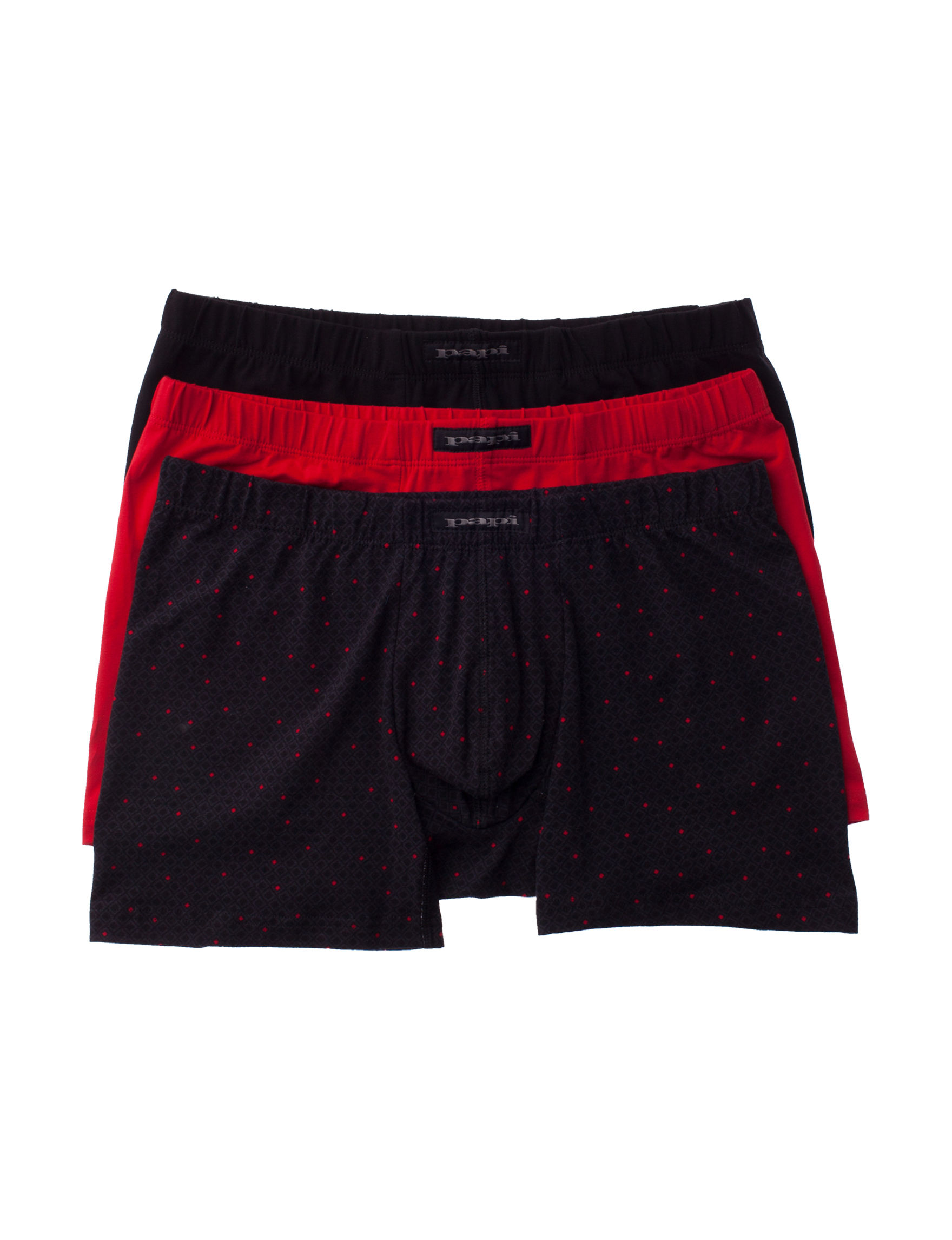 Papi Red / Black Boxer Briefs