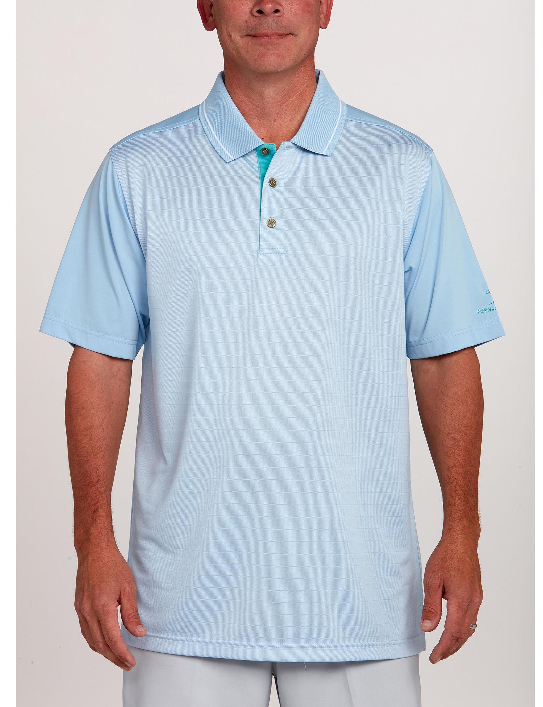 Pebble Beach Blue Polos