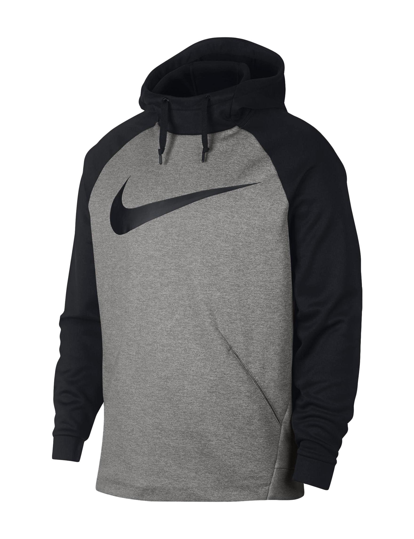 Nike Heather Grey Pull-overs