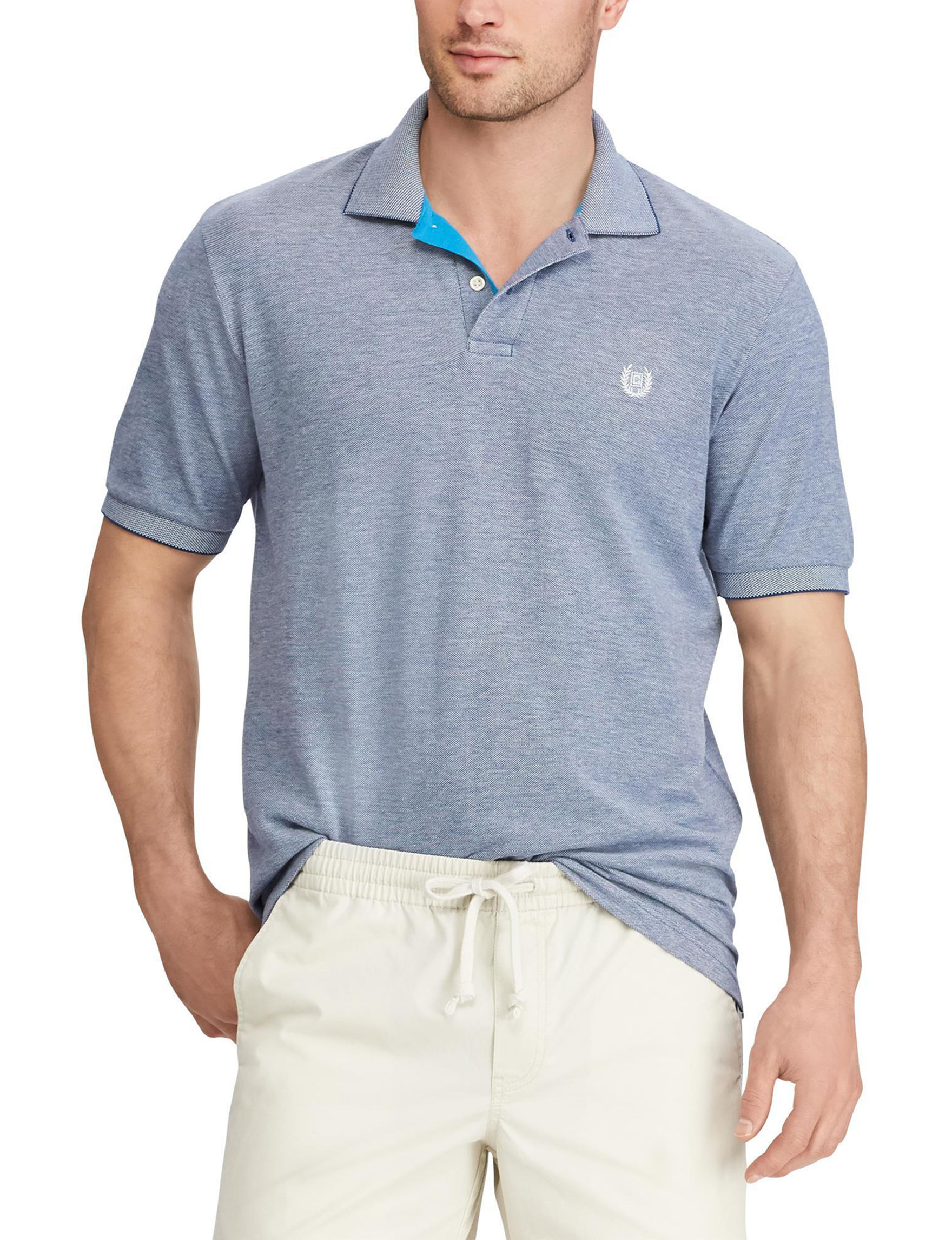 Chaps Navy Polos