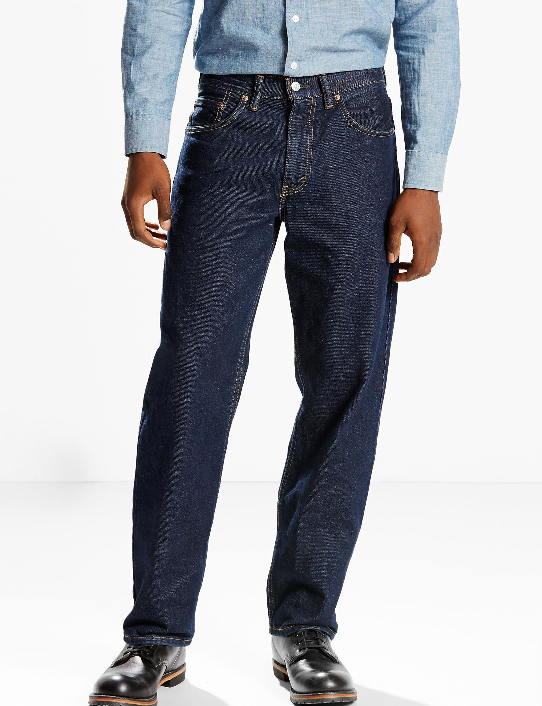 Levi's Dark Wash Relaxed