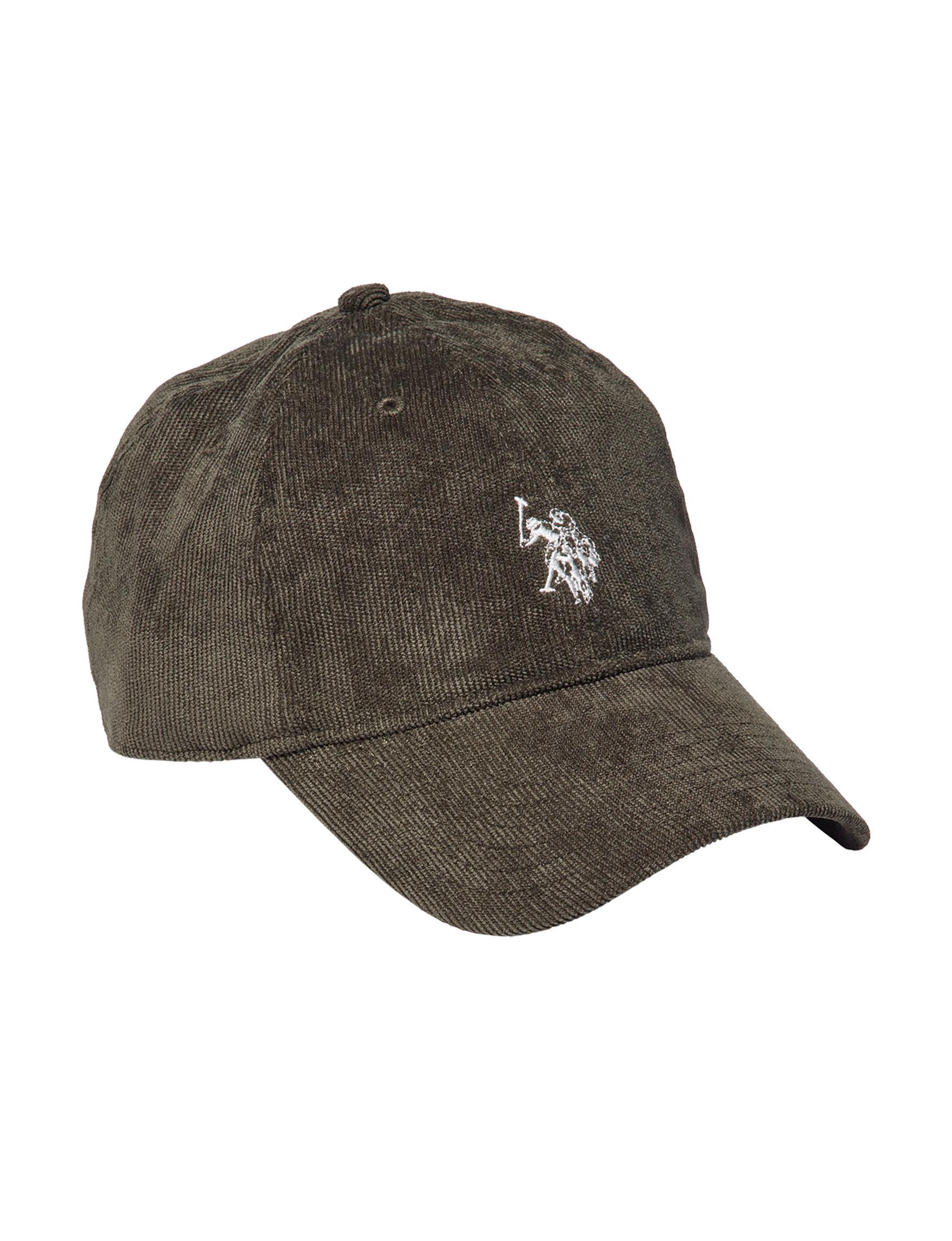 U.S. Polo Assn. Olive Hats & Headwear