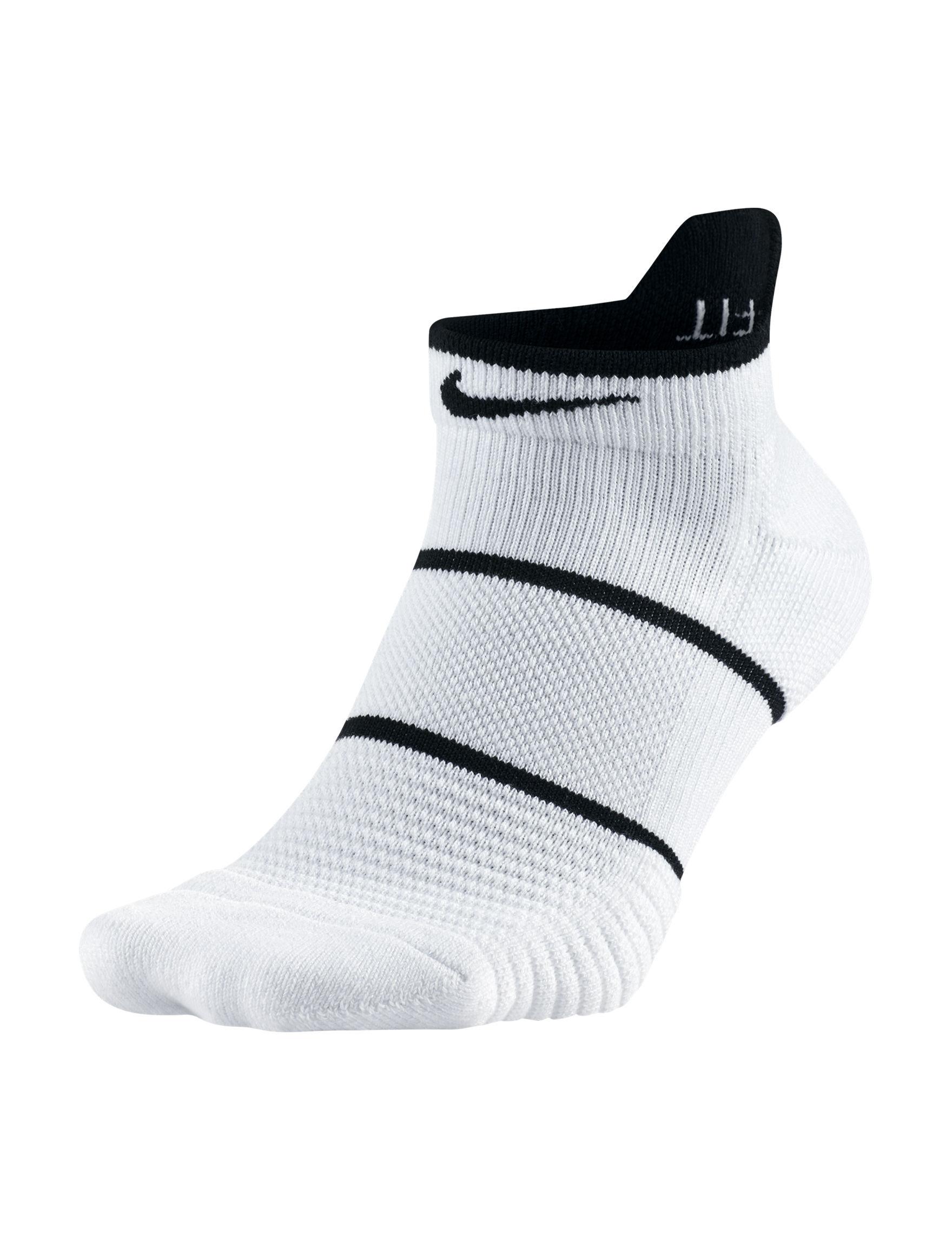 Nike White / Black Socks
