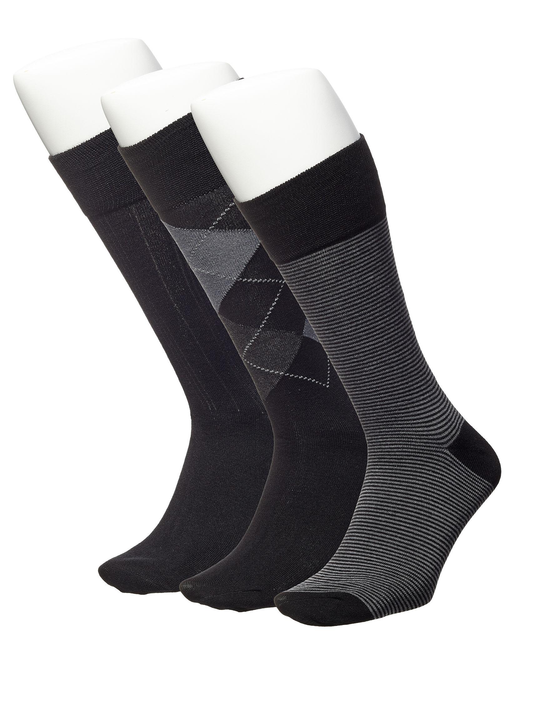 Ivy Crew Black Socks