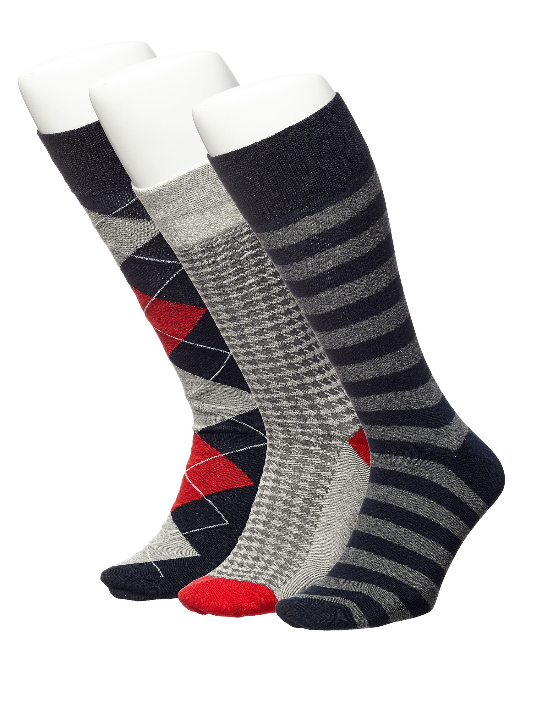 Ivy Crew Black Stripe Socks