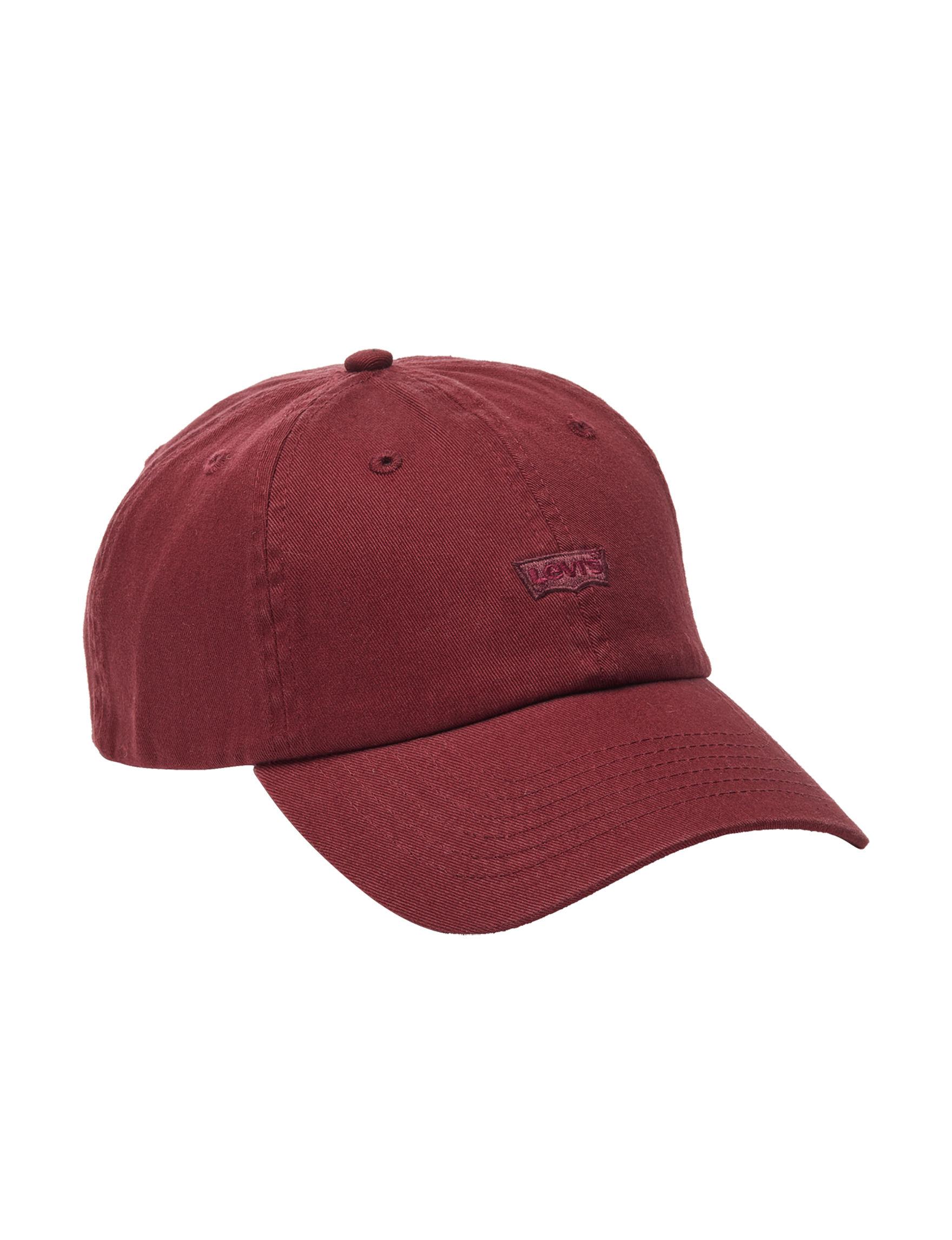 Levi's Burgundy Hats & Headwear Baseball Caps