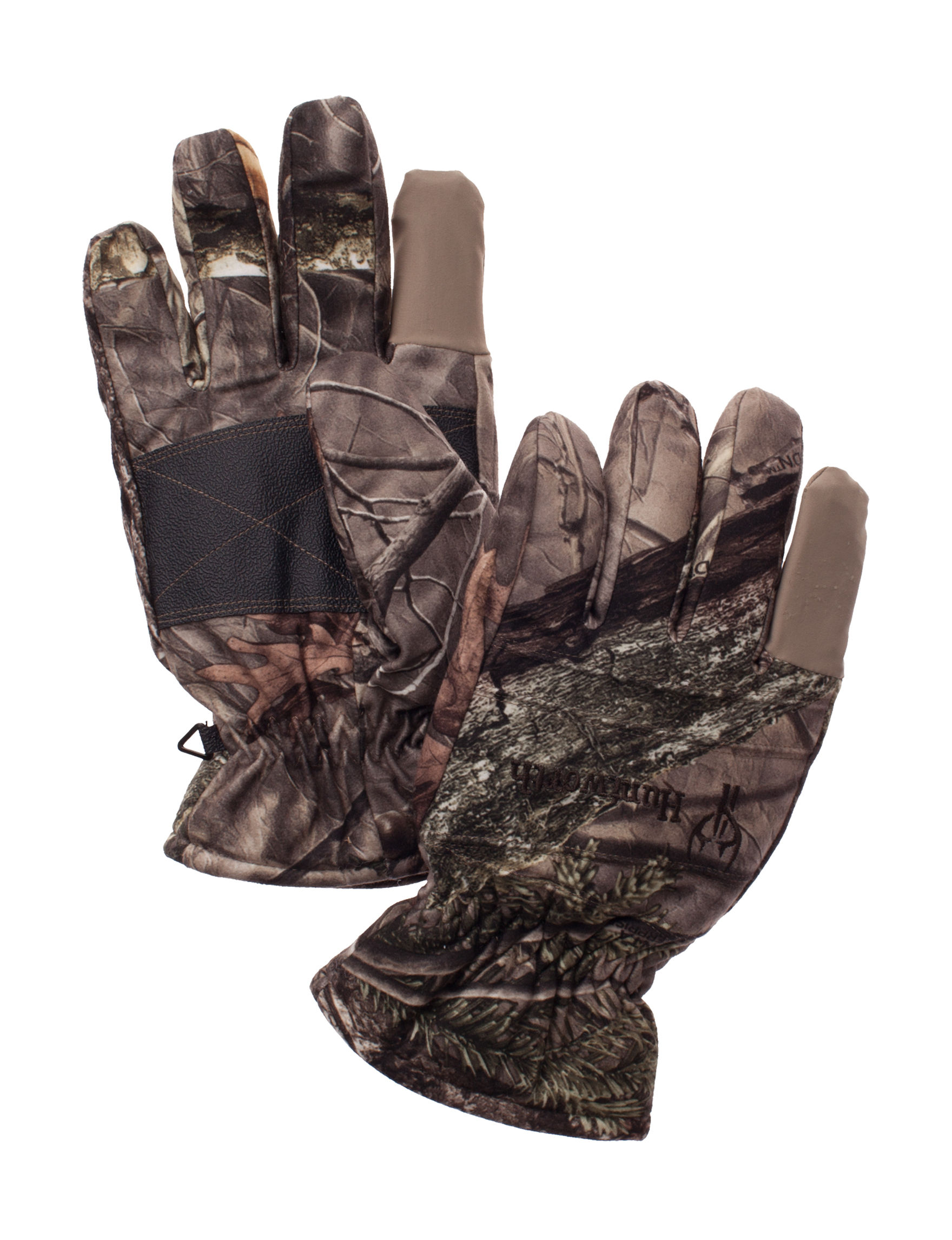 Huntworth Green Camo Gloves & Mittens