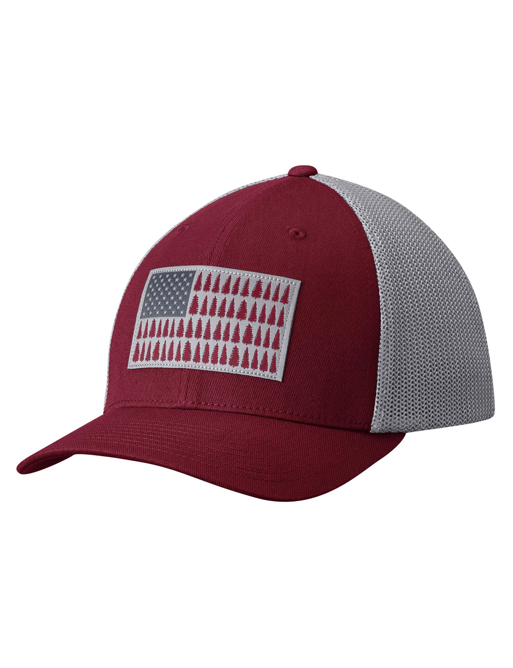 Columbia Burgundy Hats & Headwear Baseball Caps