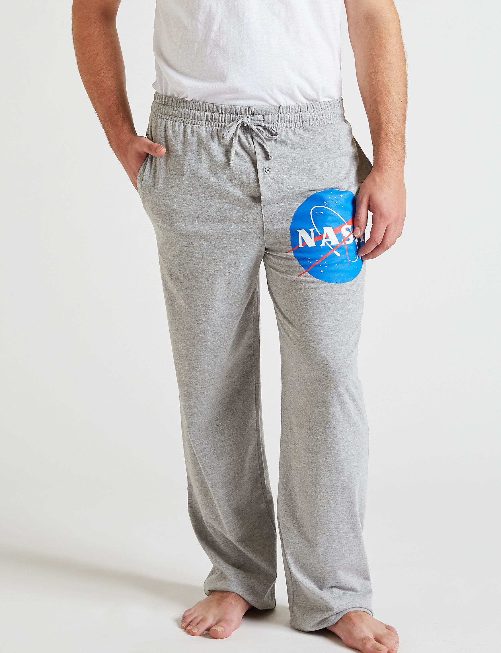 Licensed Grey Pajama Bottoms