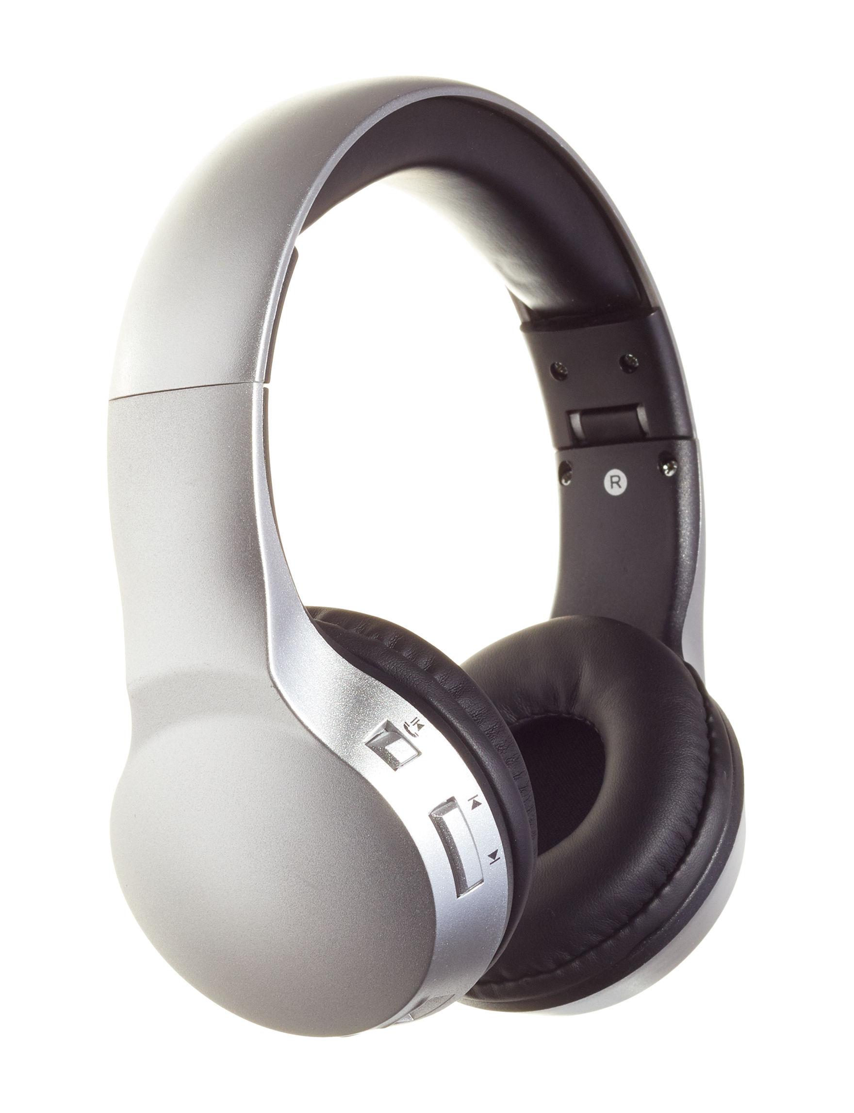 Sharper Image Black Headphones Tech Accessories