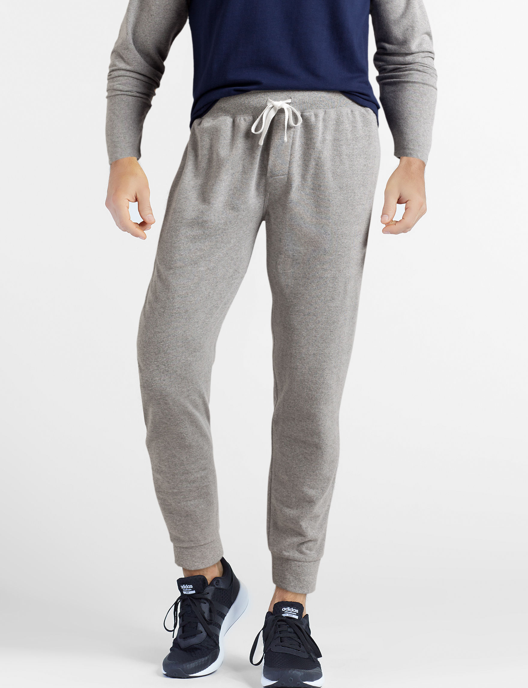 Izod Heather Grey Pajama Bottoms