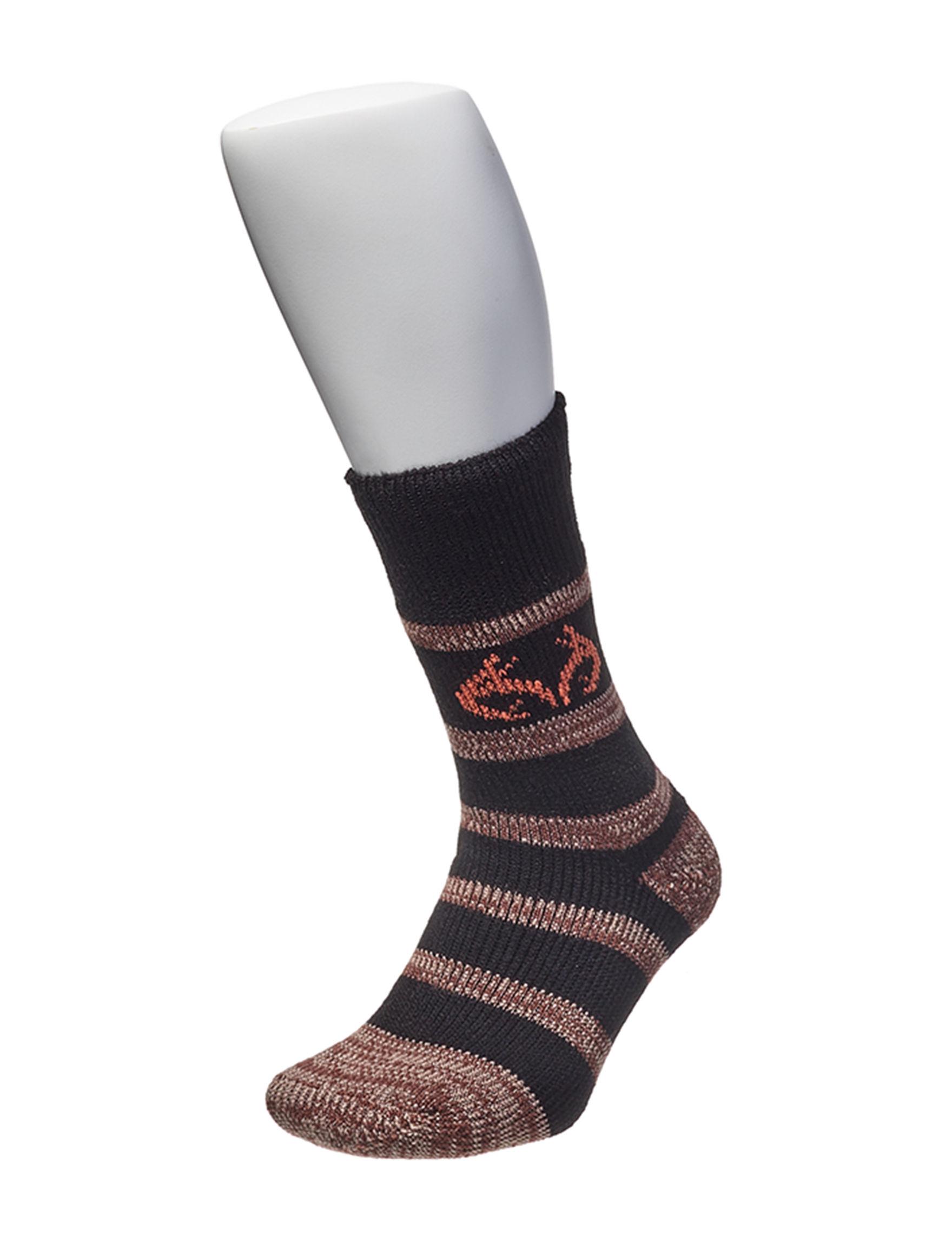Realtree Black Socks
