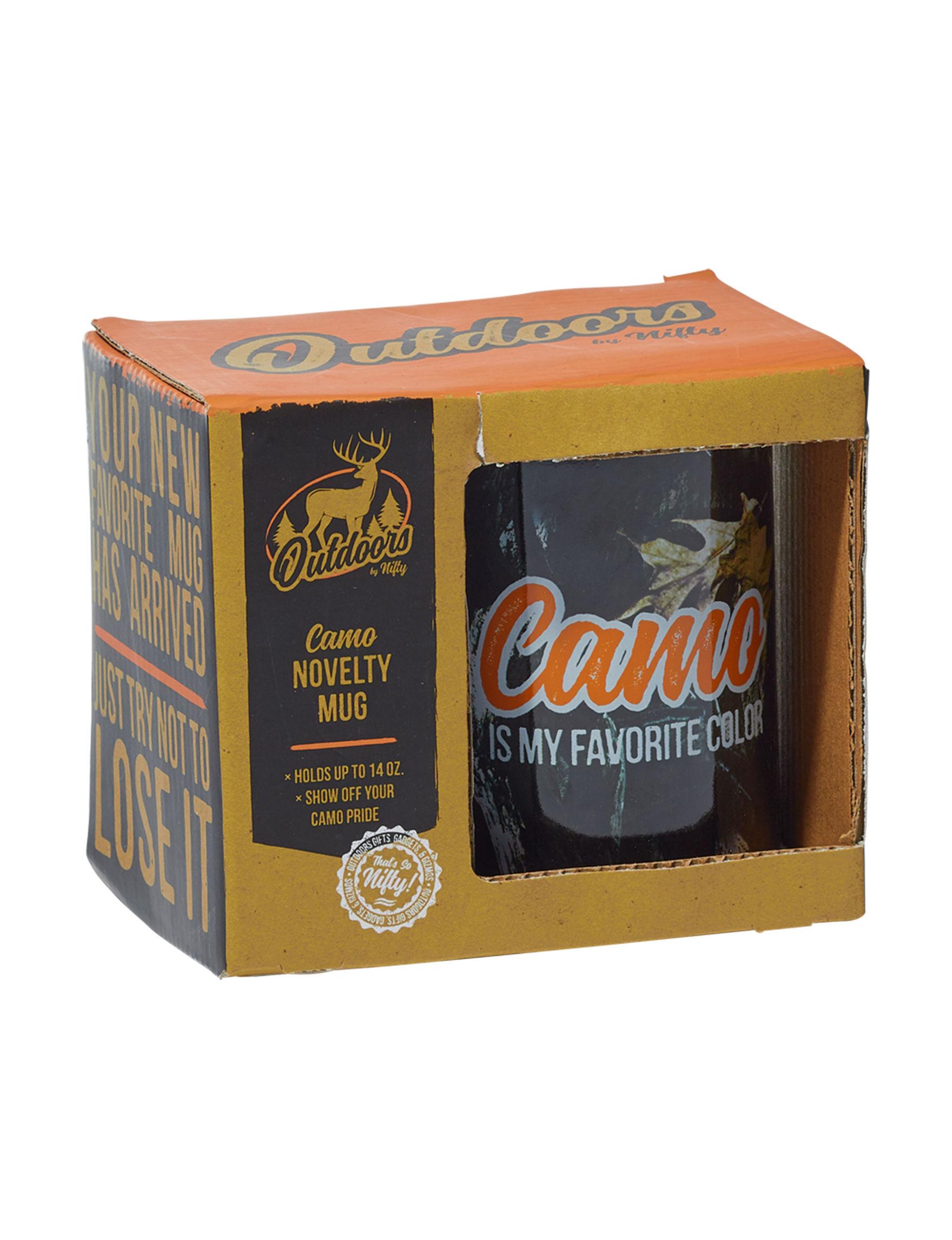 Nifty Camo Mugs Drinkware