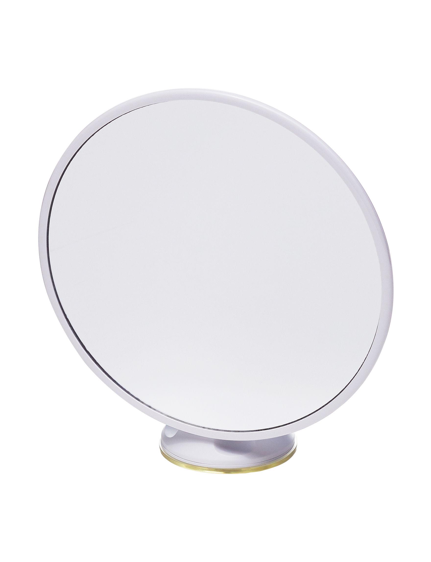 Nifty Silver Mirrors Bath Accessories