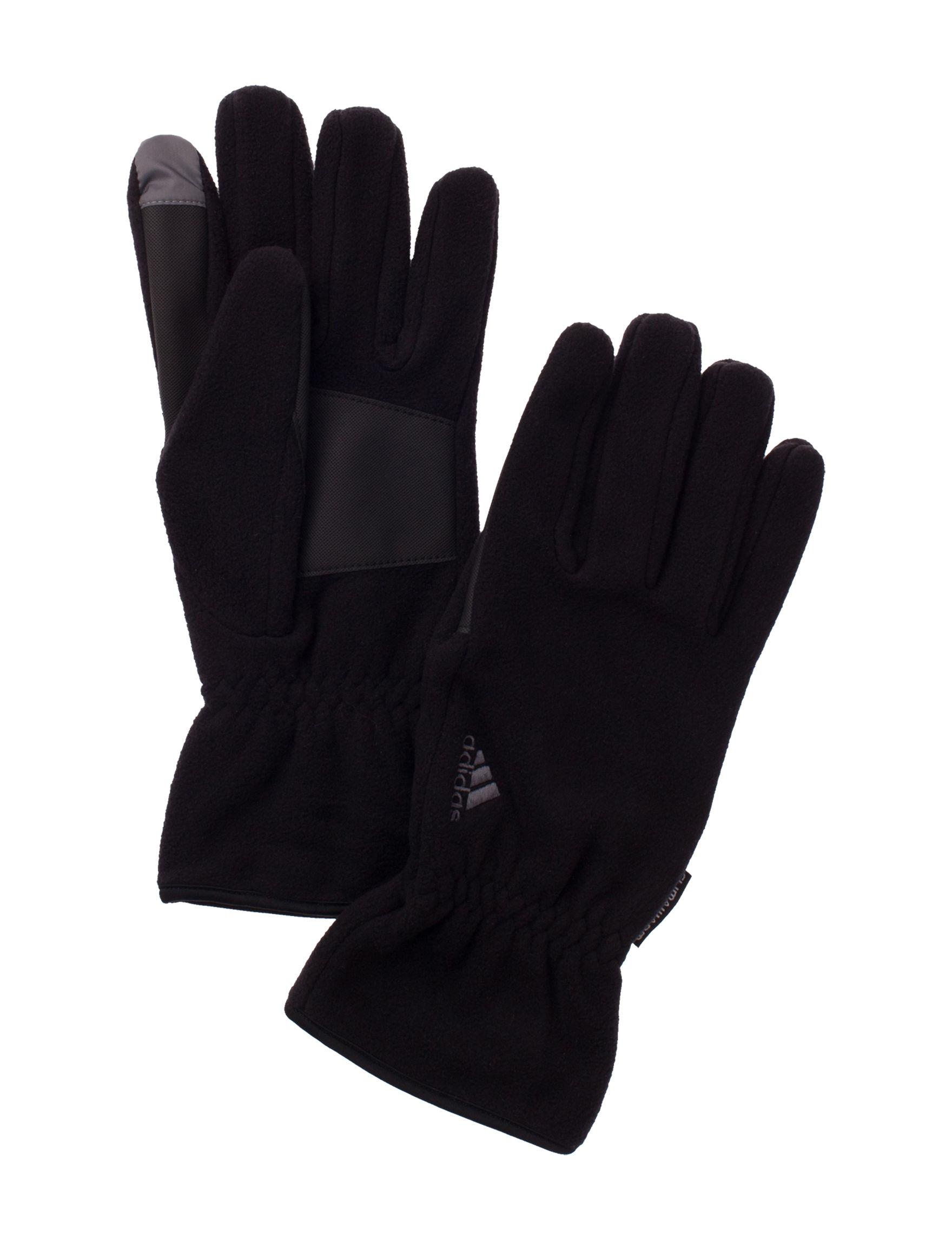 Adidas Black Gloves & Mittens