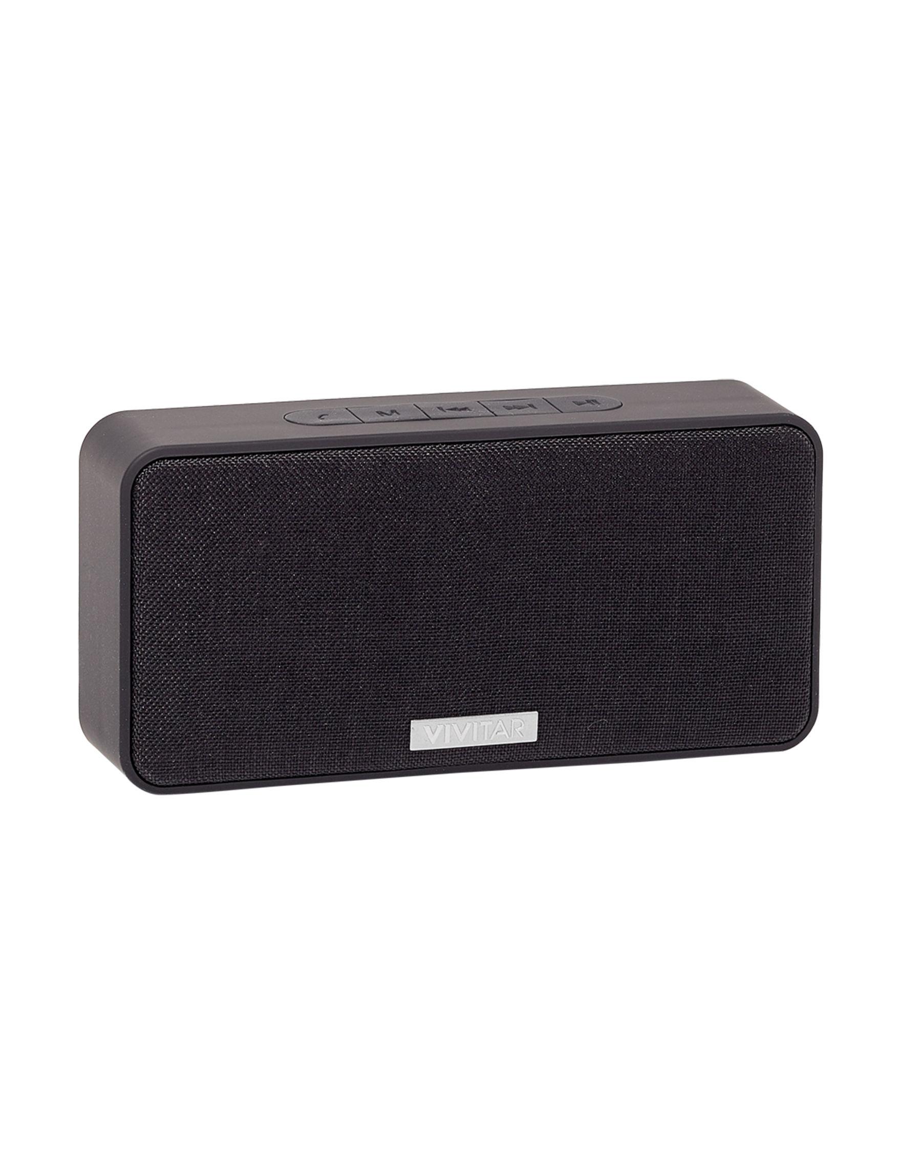 Vivitar Black Speakers & Docks