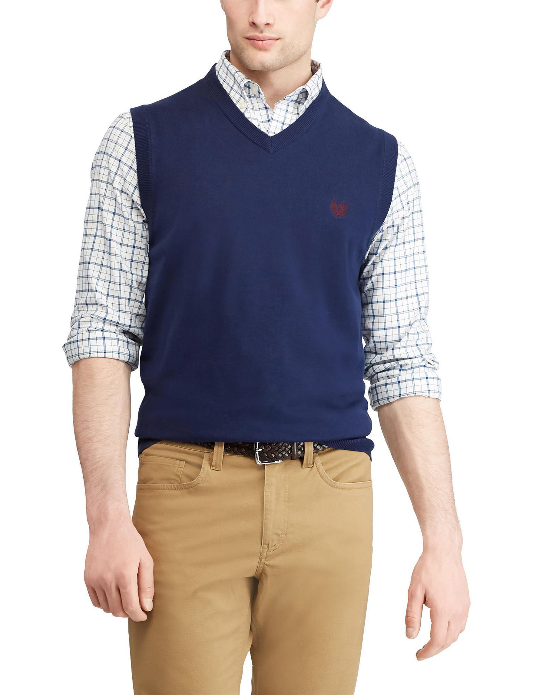 Chaps Big Tall Sweater Vest Stage Stores
