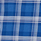 Cobalt Blue Plaid