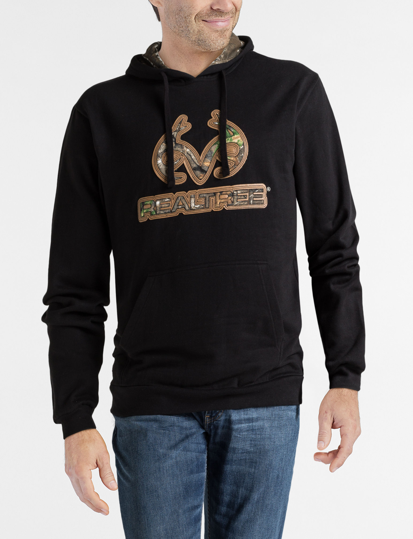 Realtree Black Pull-overs