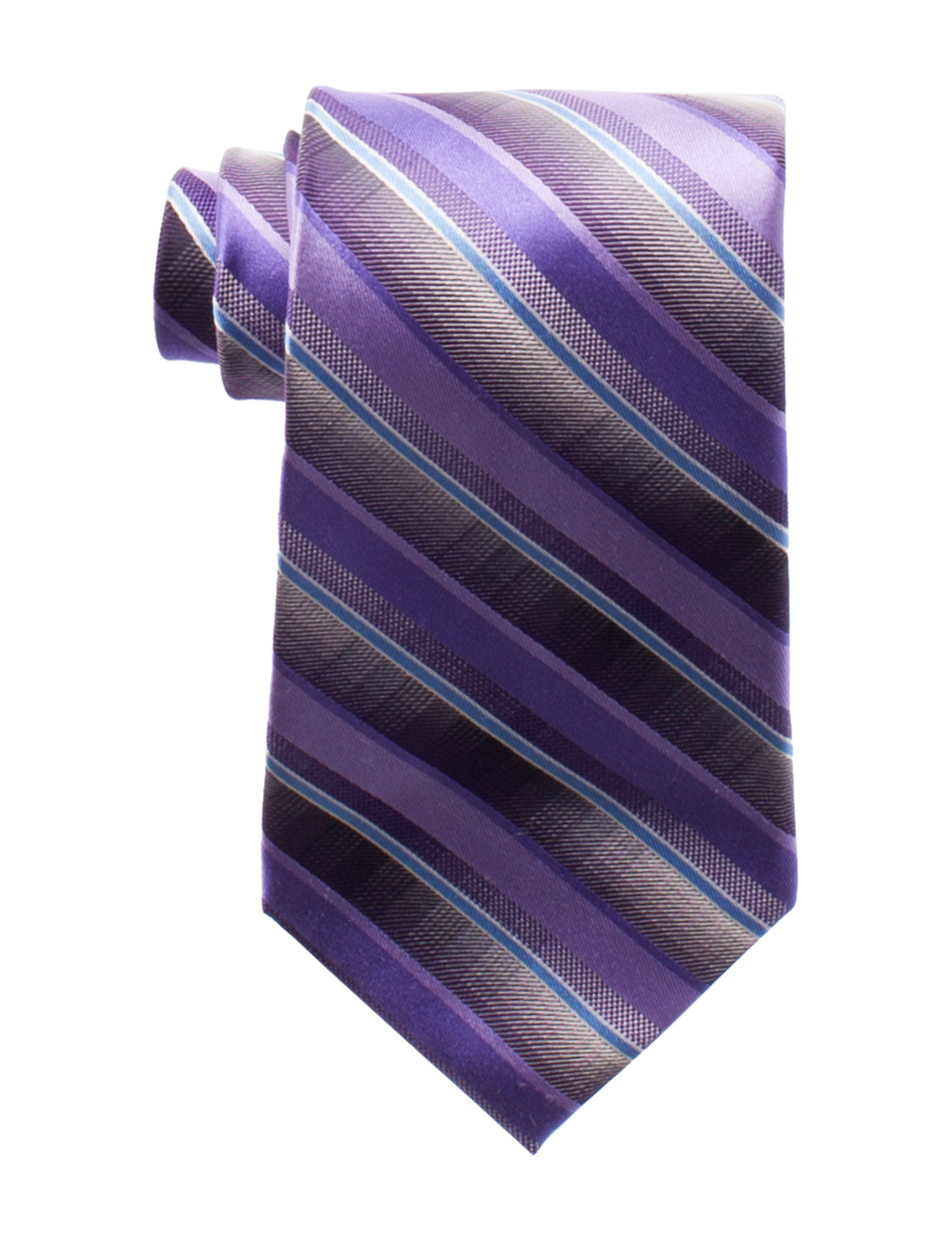 Van Heusen Purple Stripe