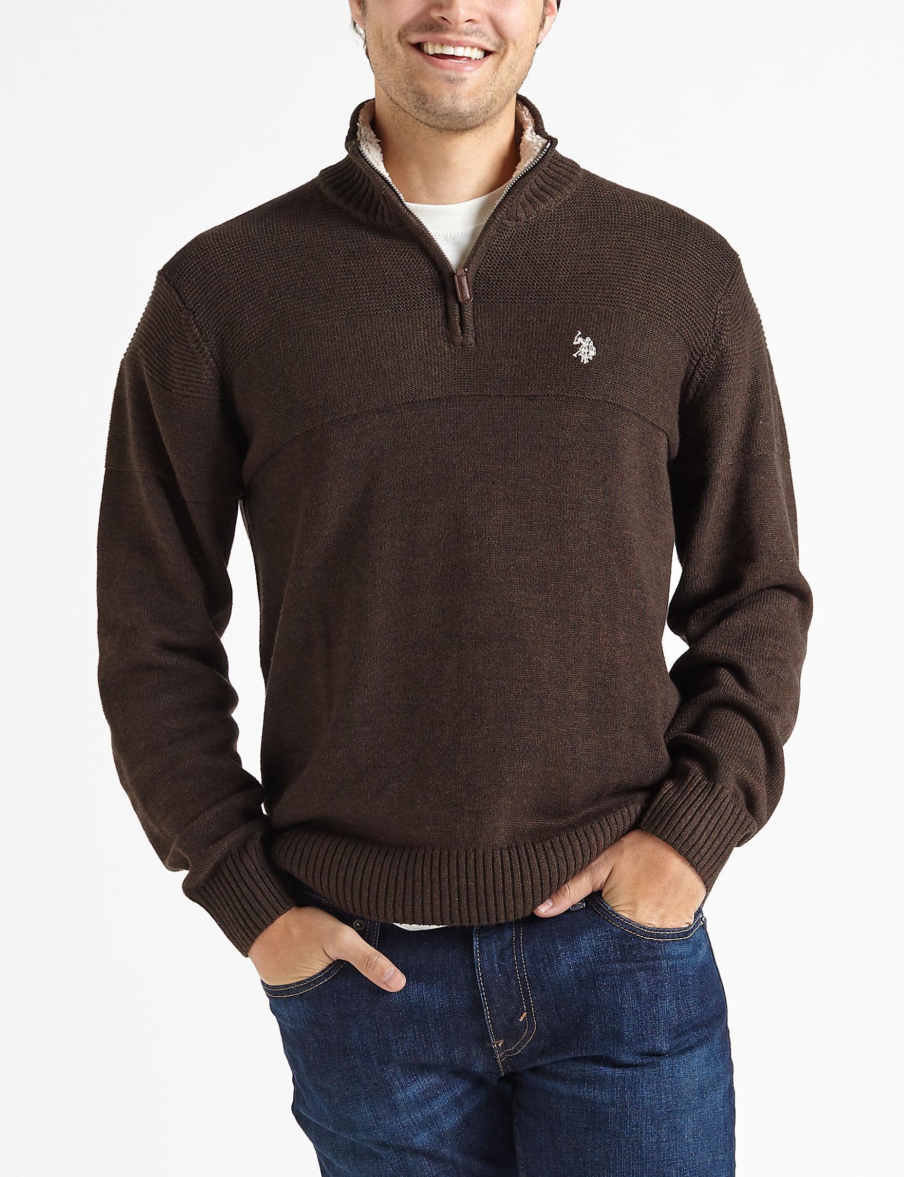 U.S. Polo Assn. Dark Brown