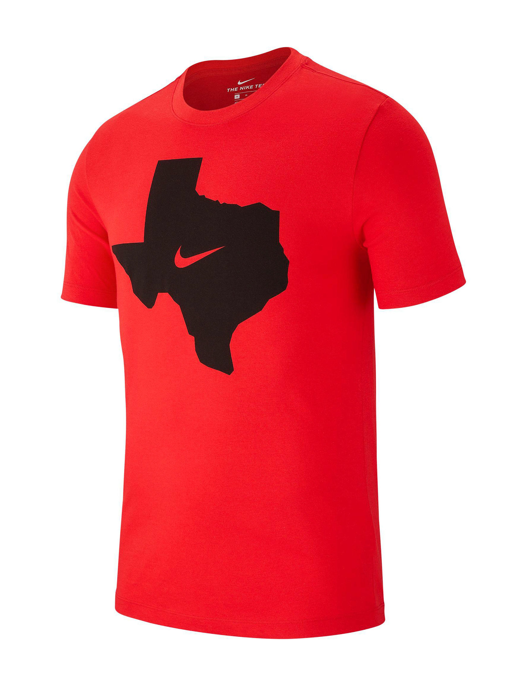 Nike Red / Black Tees & Tanks