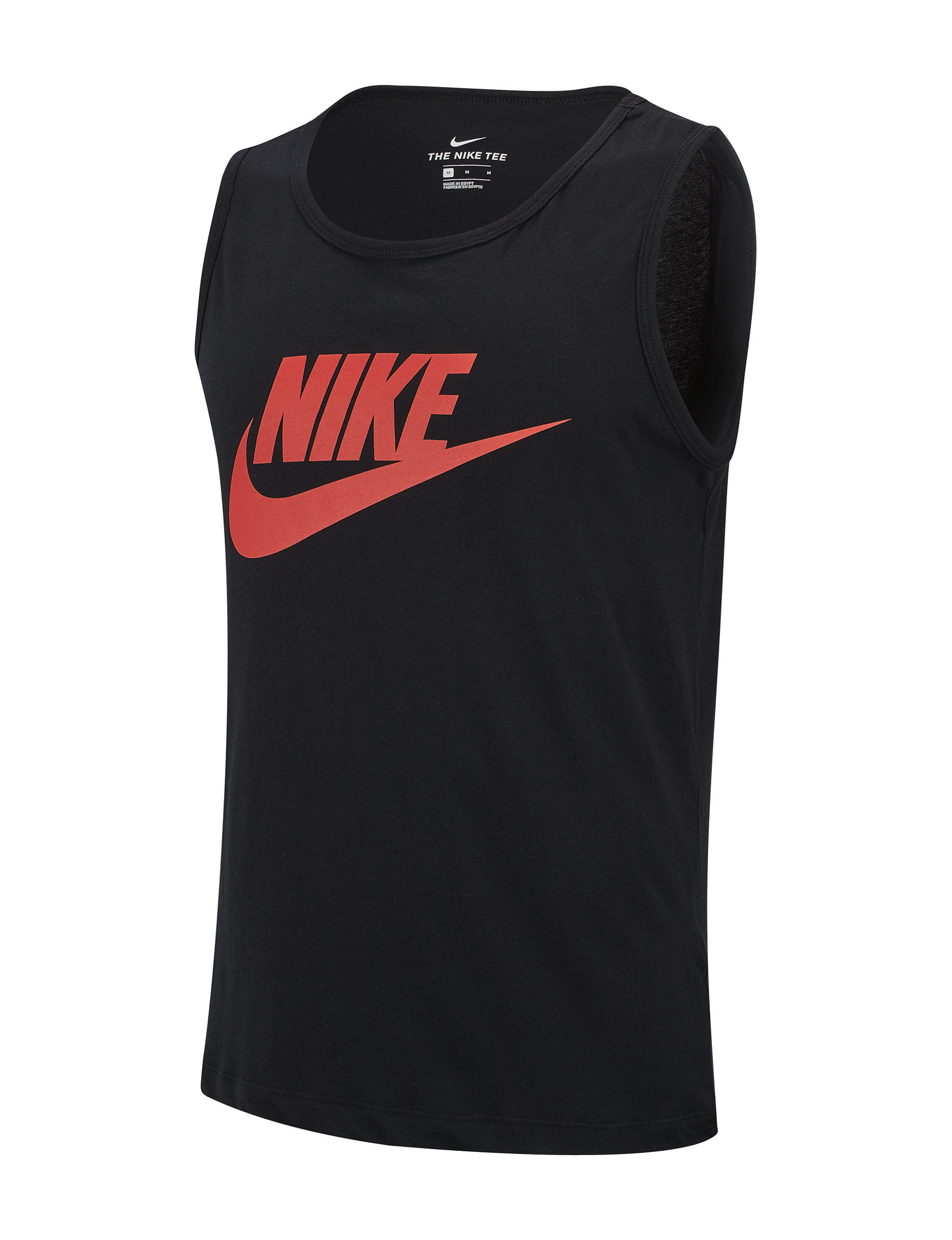 Nike Black / Red Tees & Tanks