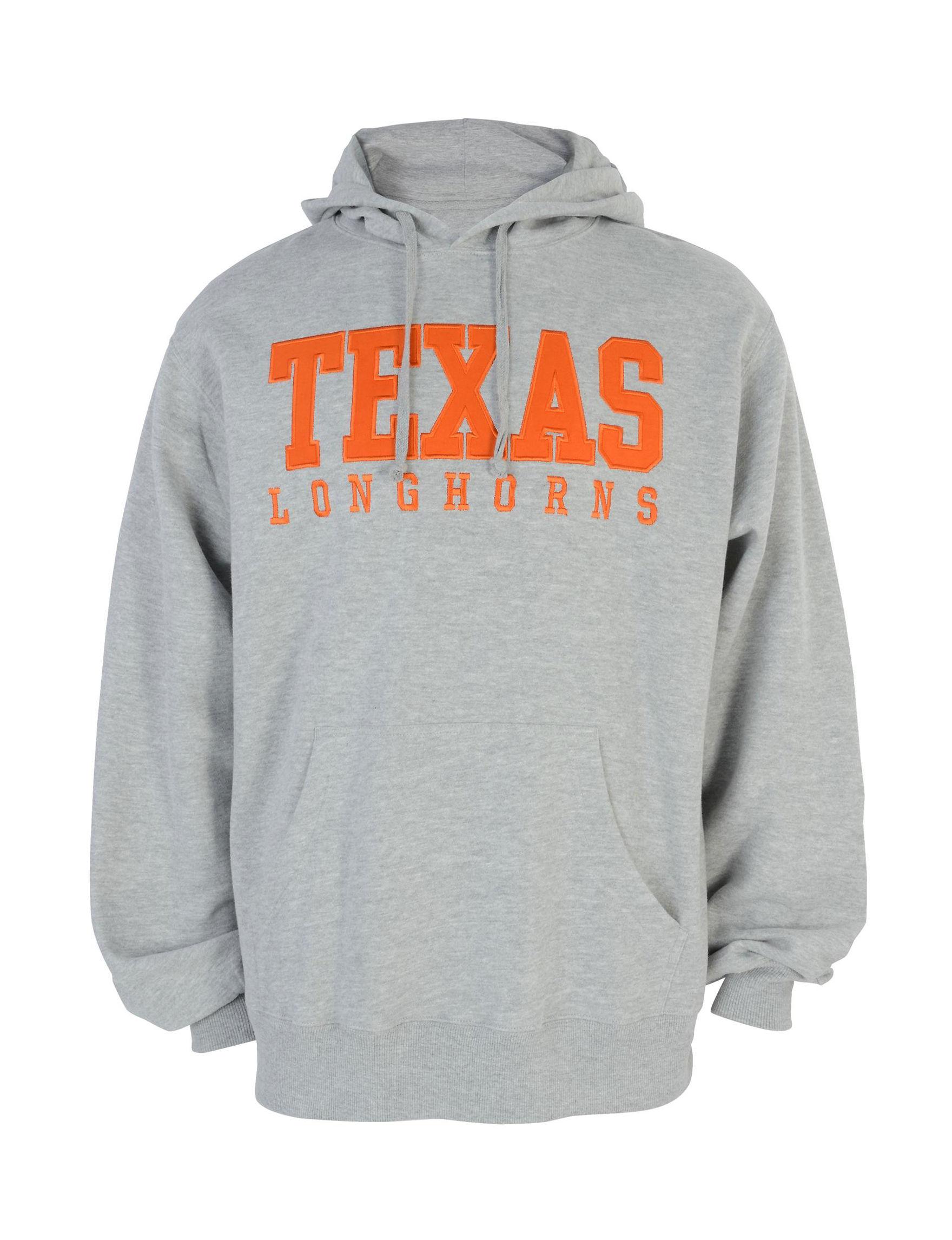 NCAA Grey / Orange Pull-overs