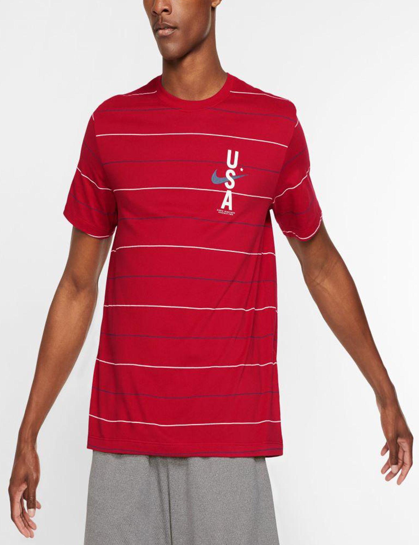 Nike Gym Red Tees & Tanks