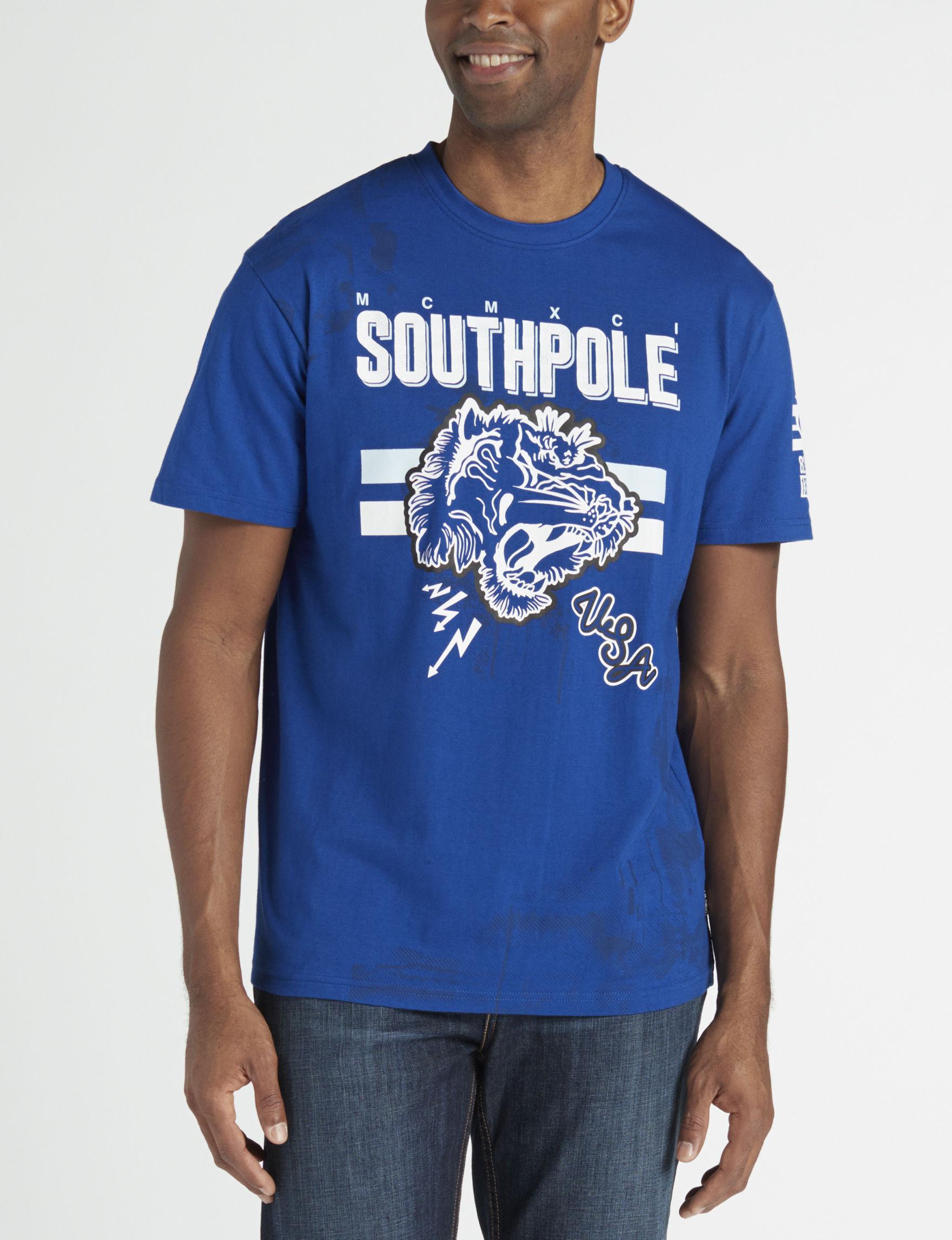 Southpole Royal Blue Tees & Tanks