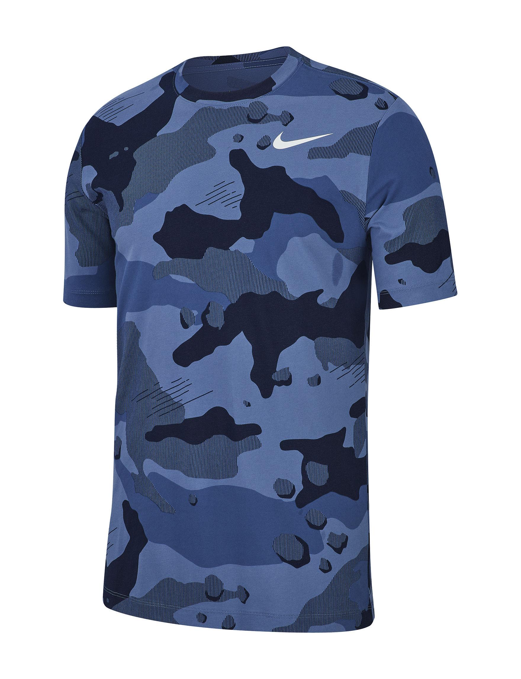 Nike Blue Camo