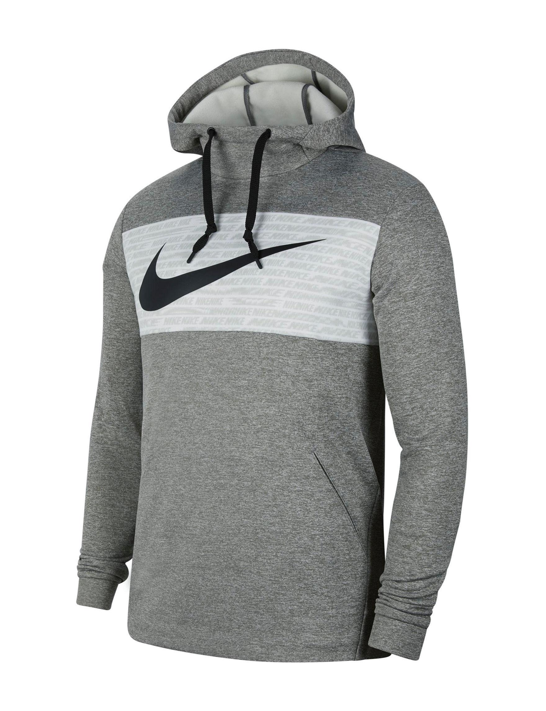 Nike Grey / Black Pull-overs