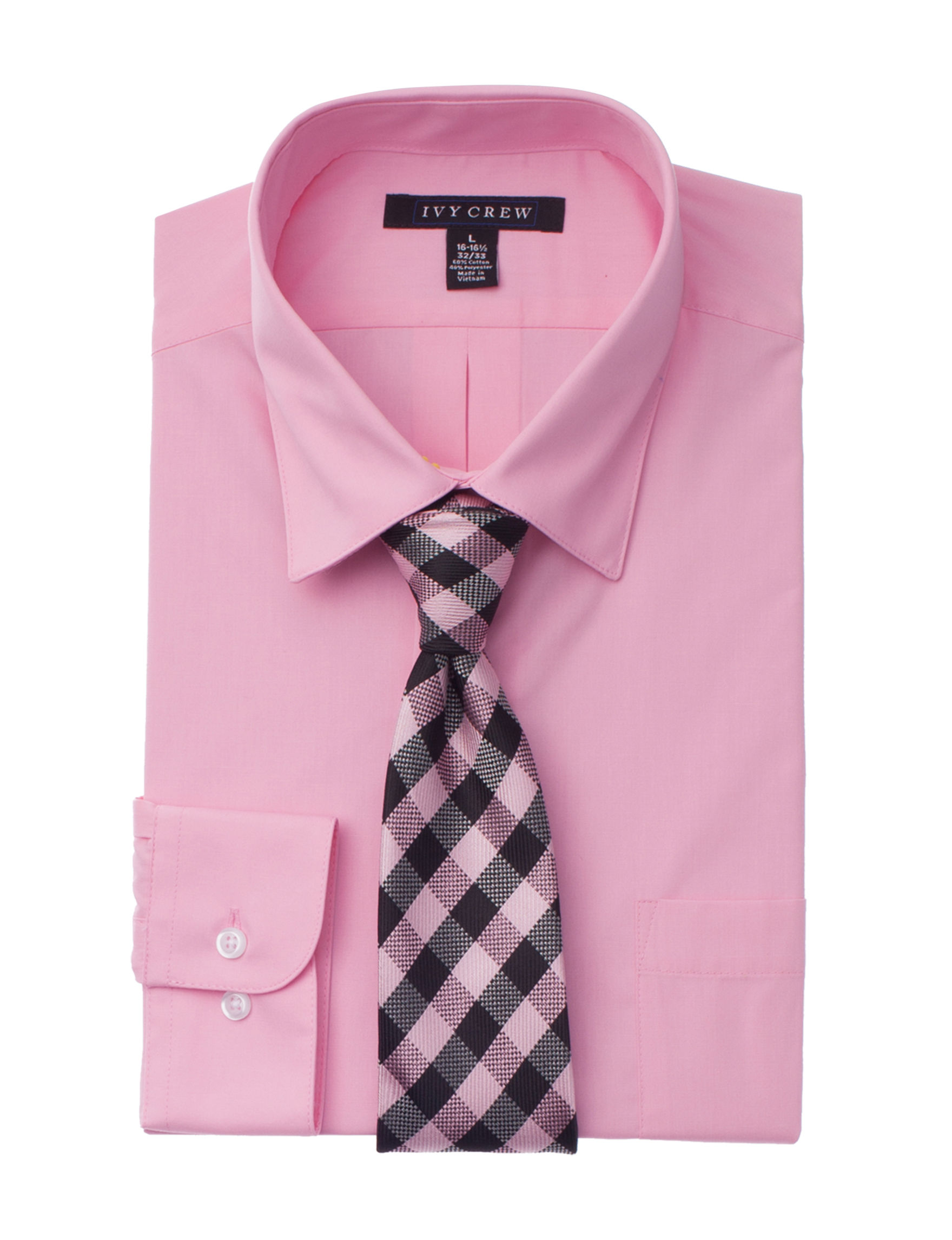 Ivy Crew Pink Dress Shirts